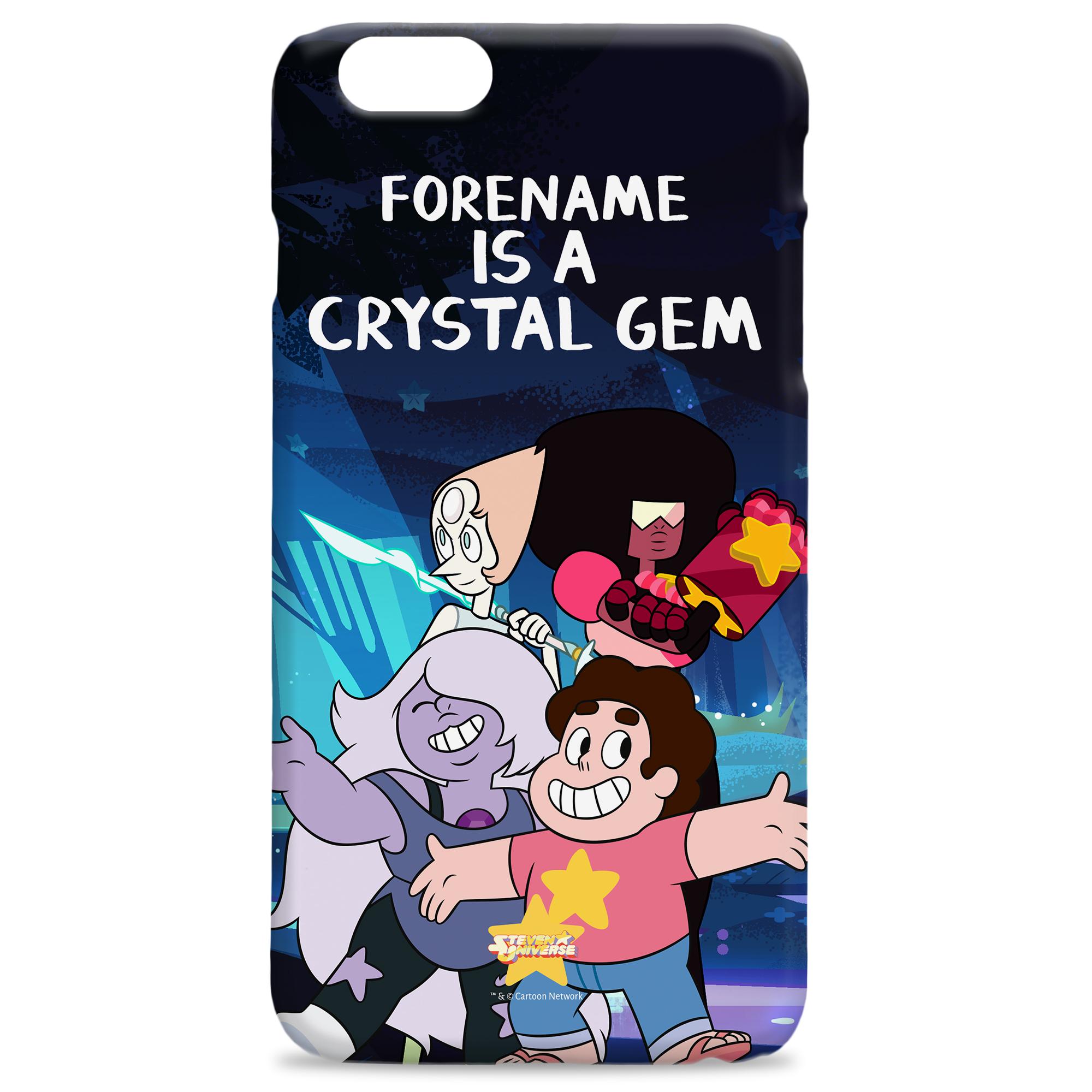 Steven Universe Crystal Gem iPhone Case