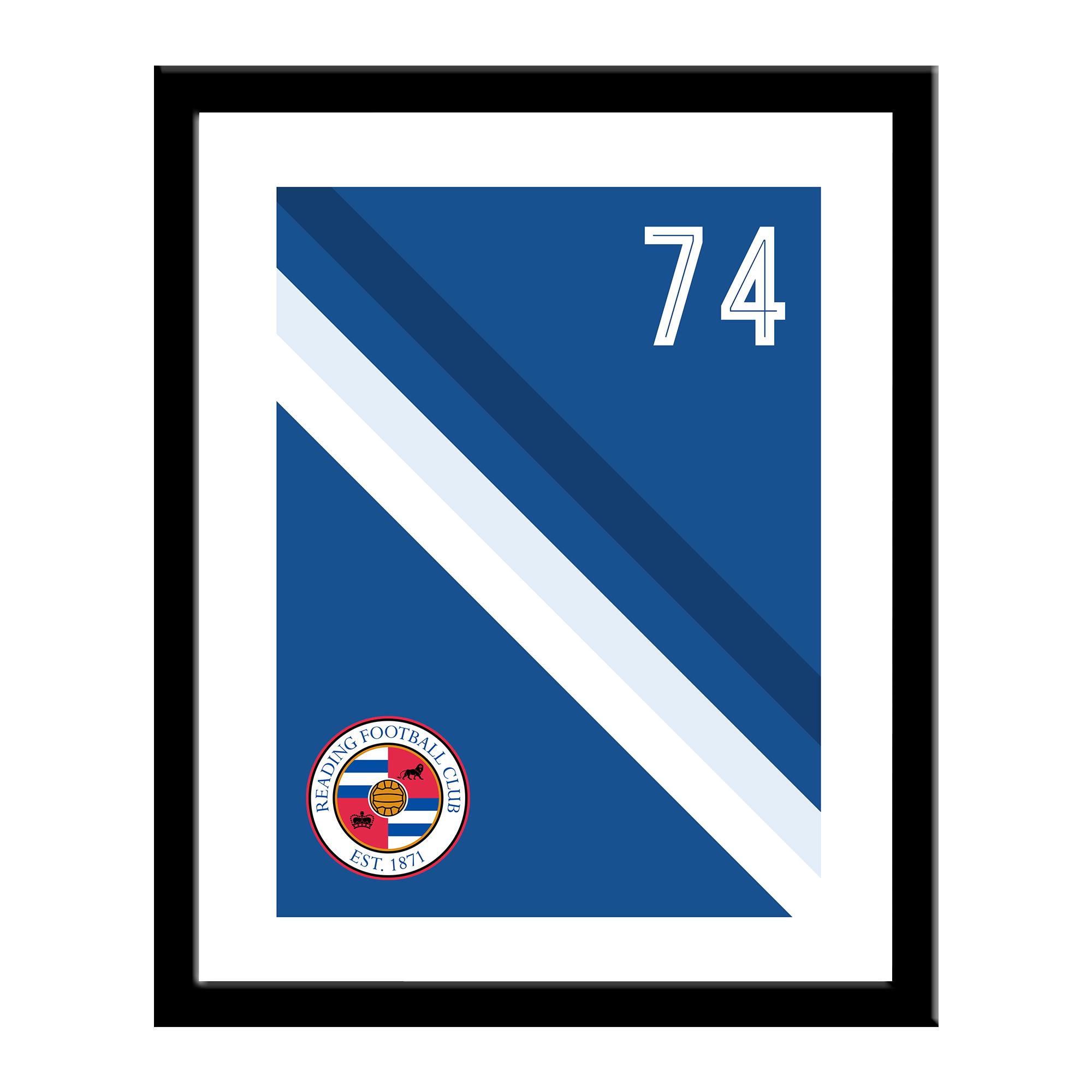 Reading FC Stripe Print