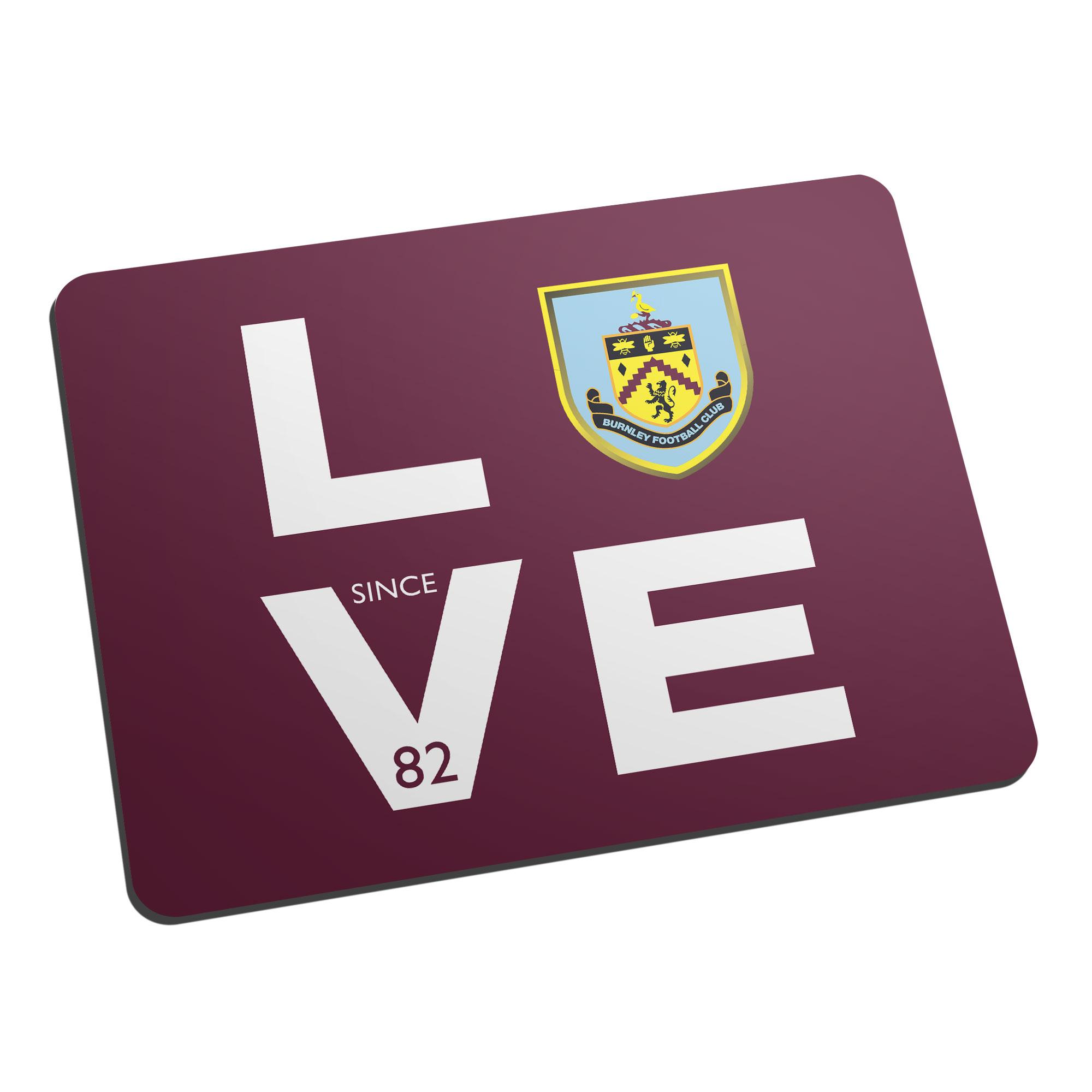Burnley FC Love Mouse Mat