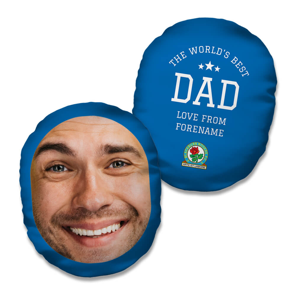 Blackburn Rovers FC World's Best Dad Mush Cush