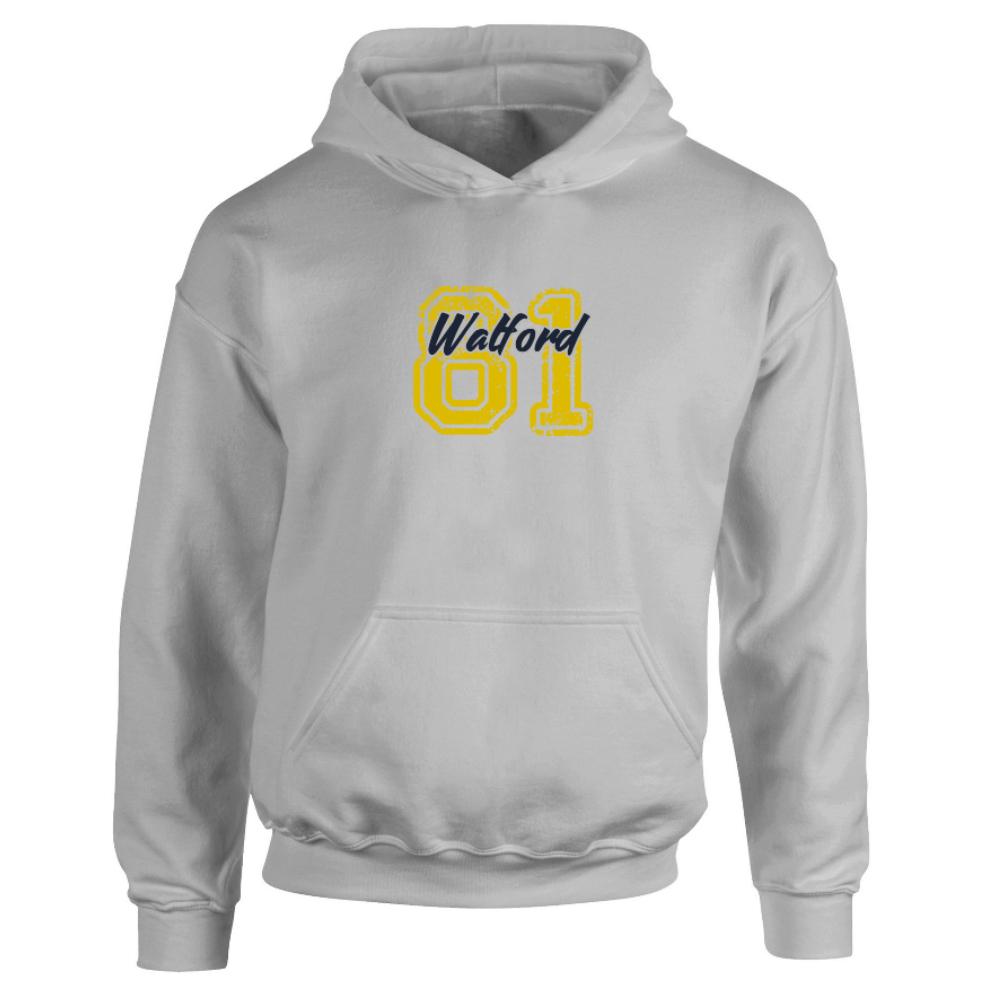 Watford FC Varsity Number Hoodie