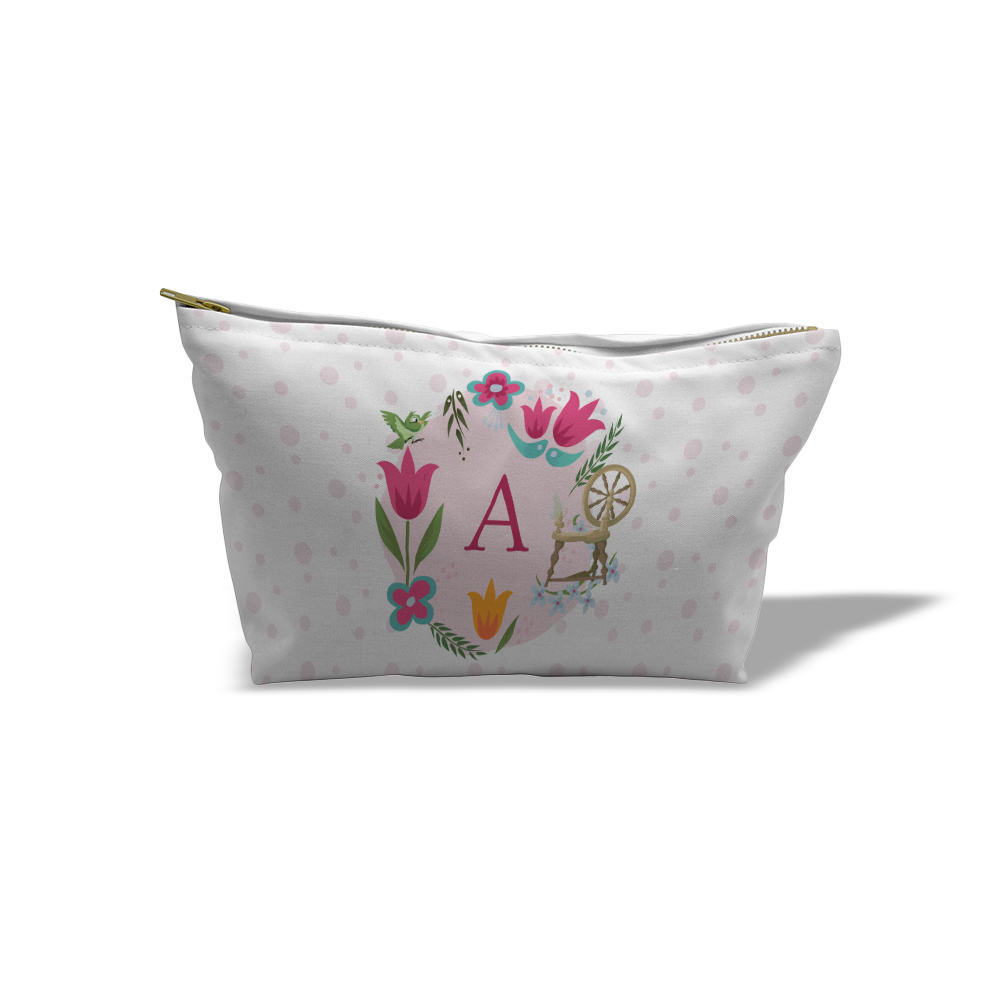Disney Princess Aurora Initial Medium Wash Bag