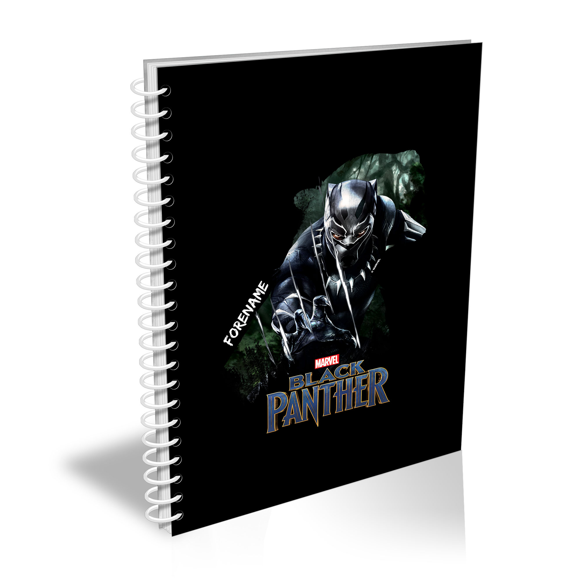 Marvel Black Panther Double Exposure A5 Notepad