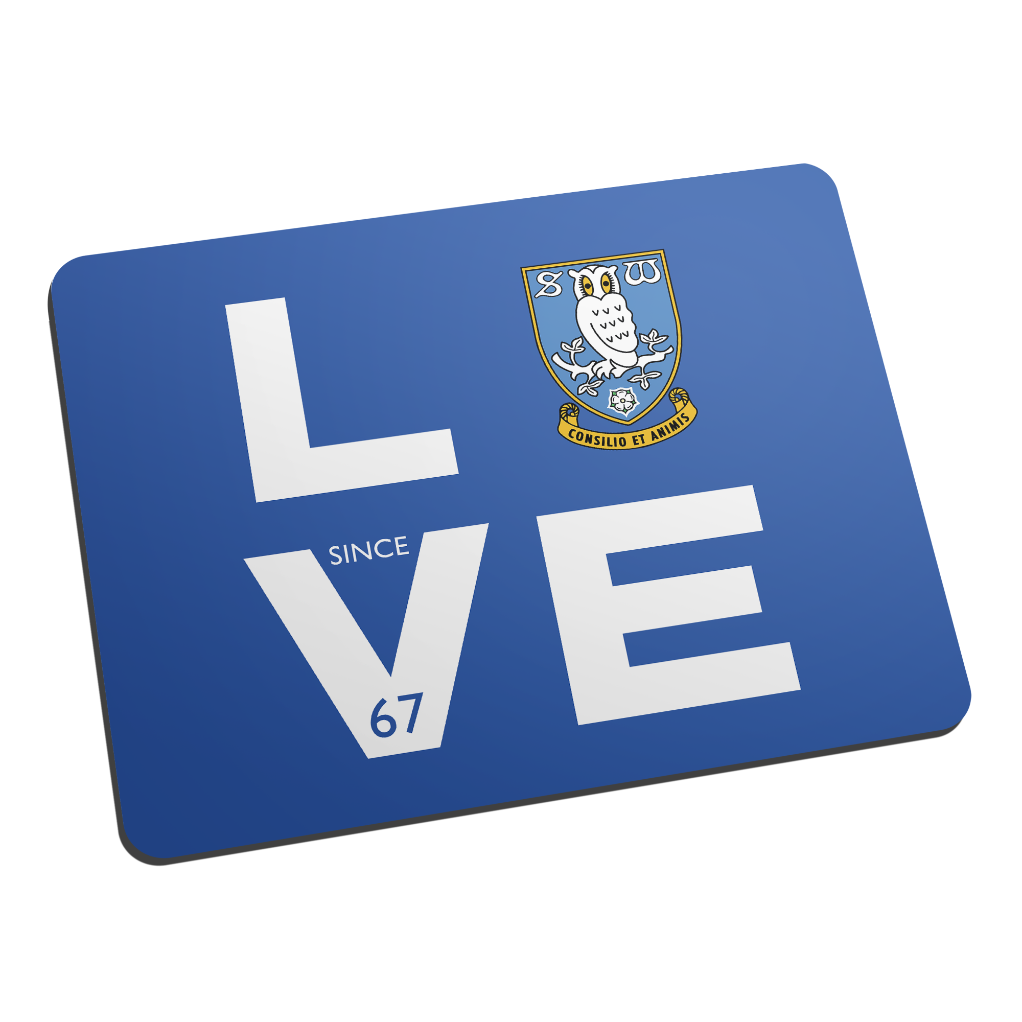 Sheffield Wednesday Love Mouse Mat