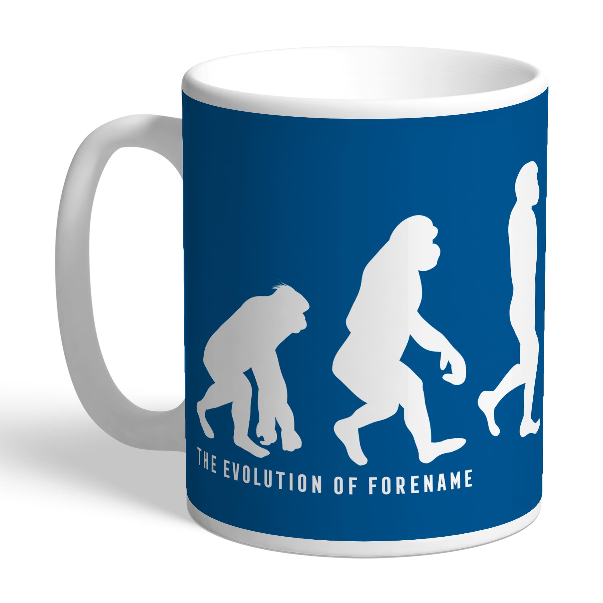 Leeds United FC Evolution Mug