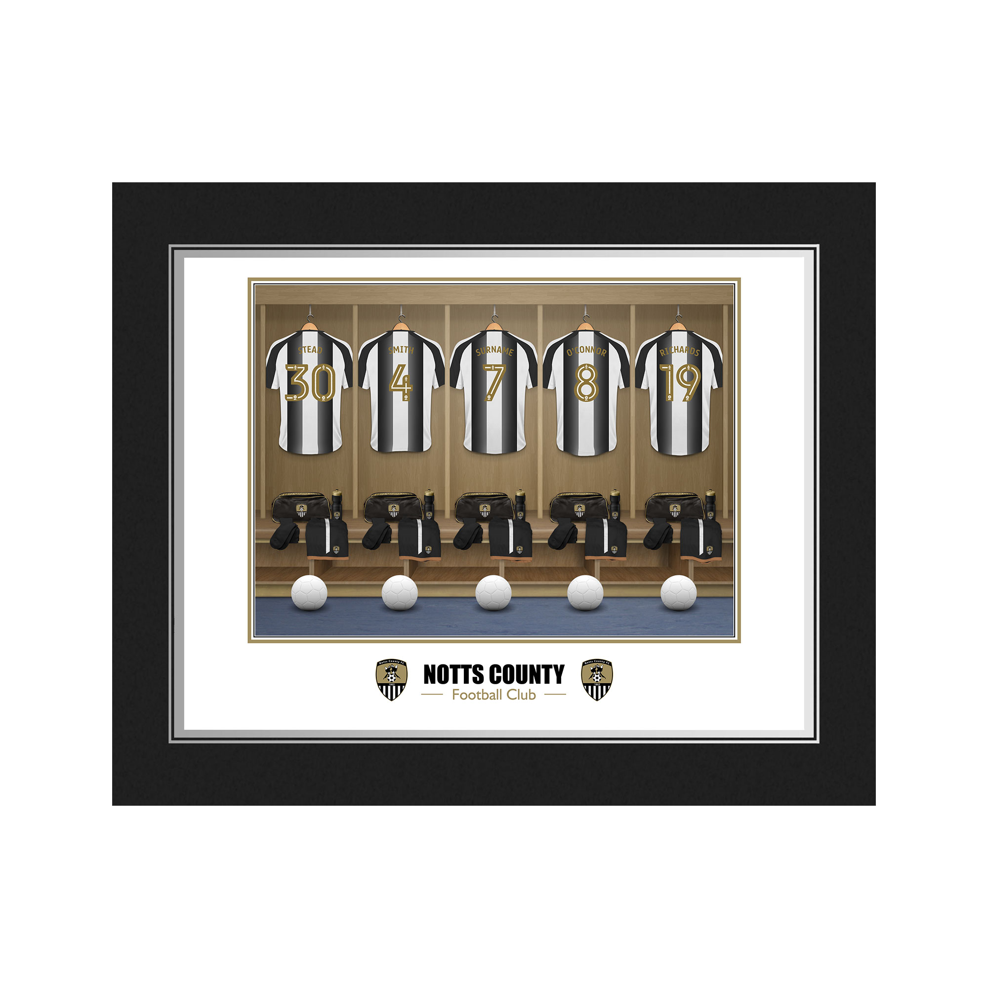 Notts County FC Dressing Room Photo Folder