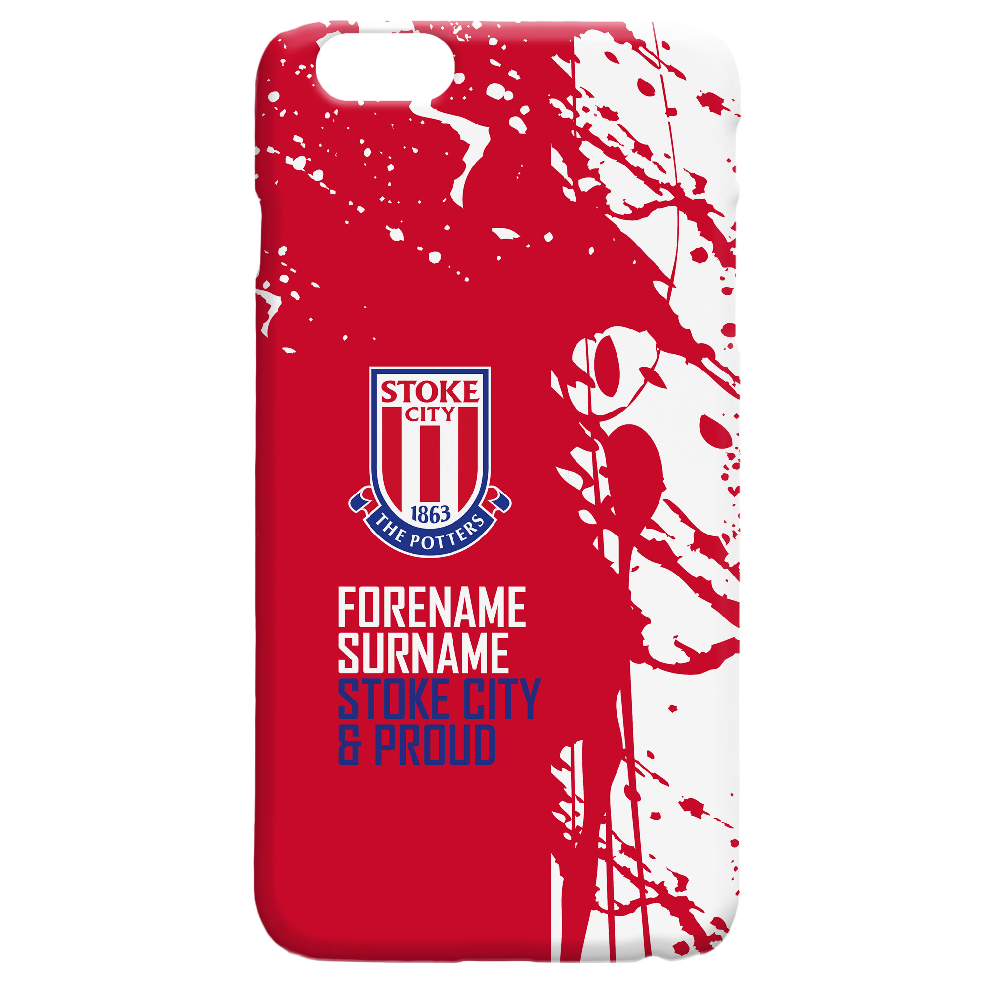 Stoke City FC Proud Hard Back Phone Case