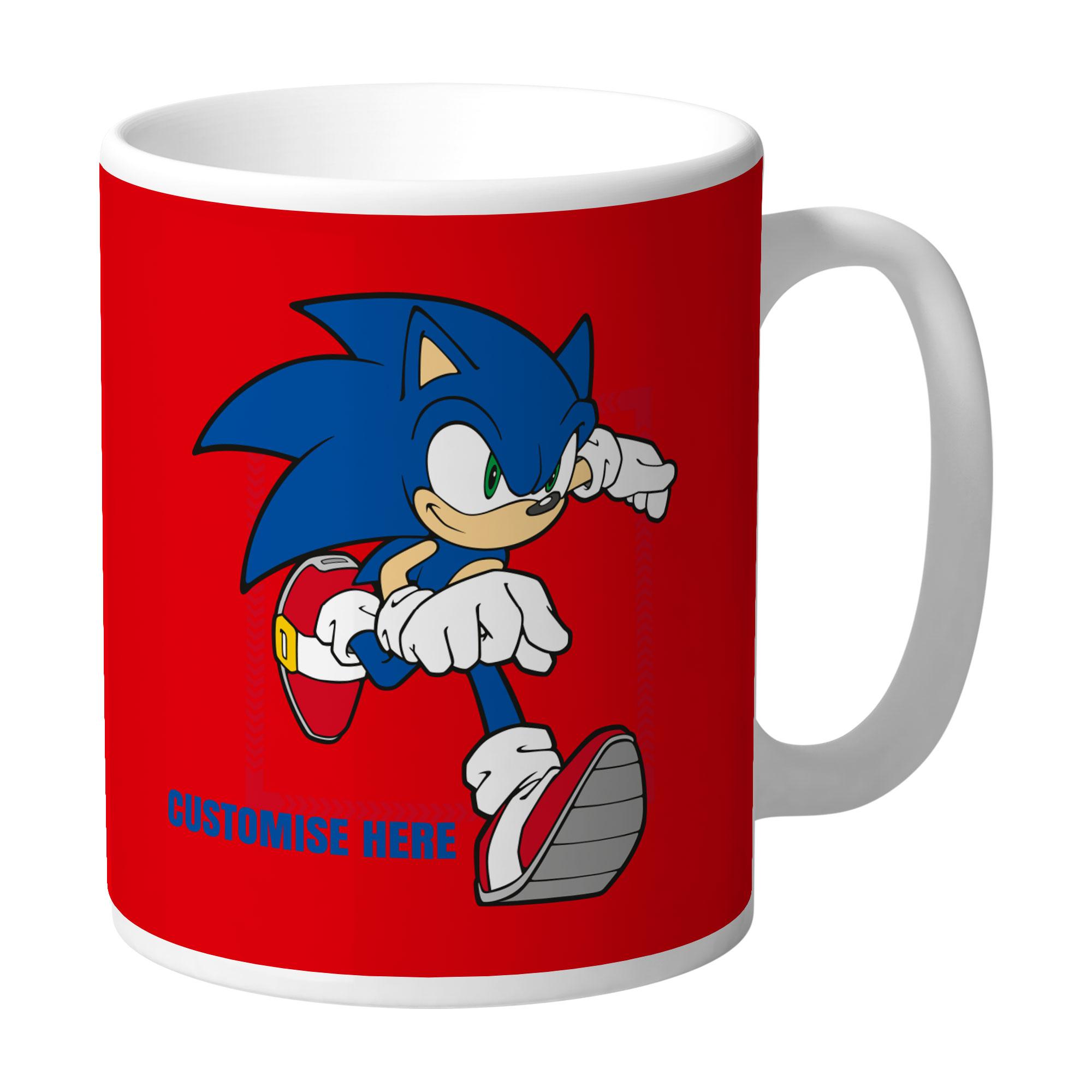 Mug - Running Sonic - Modern sonic