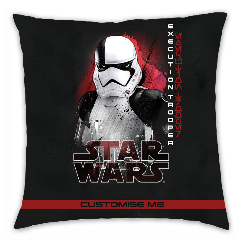 Star Wars Execution Trooper Last Jedi Spray Paint Cushion