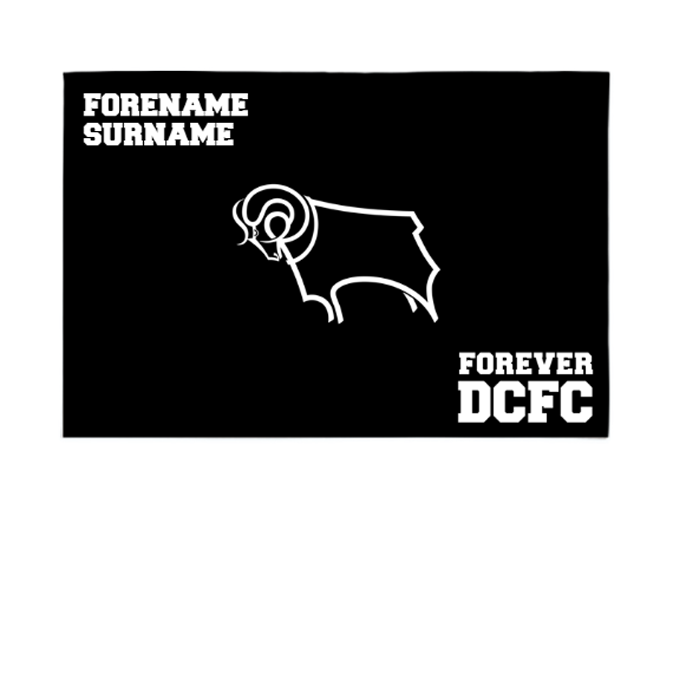 Derby County Forever 6ft x 4ft Banner