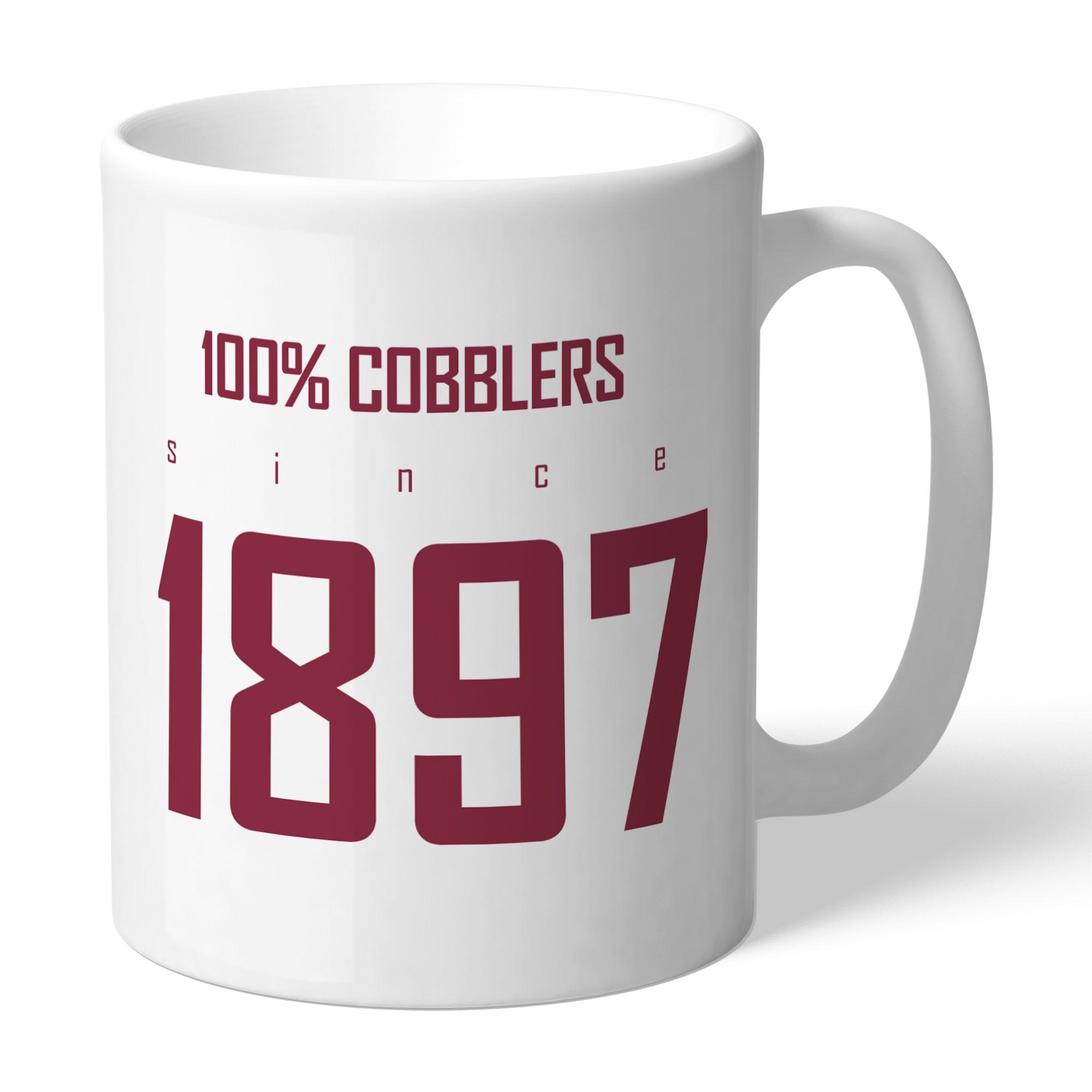 Northampton Town FC 100 Percent Mug