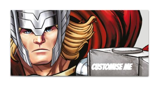 Marvel Avengers Assemble Thor Large Towel