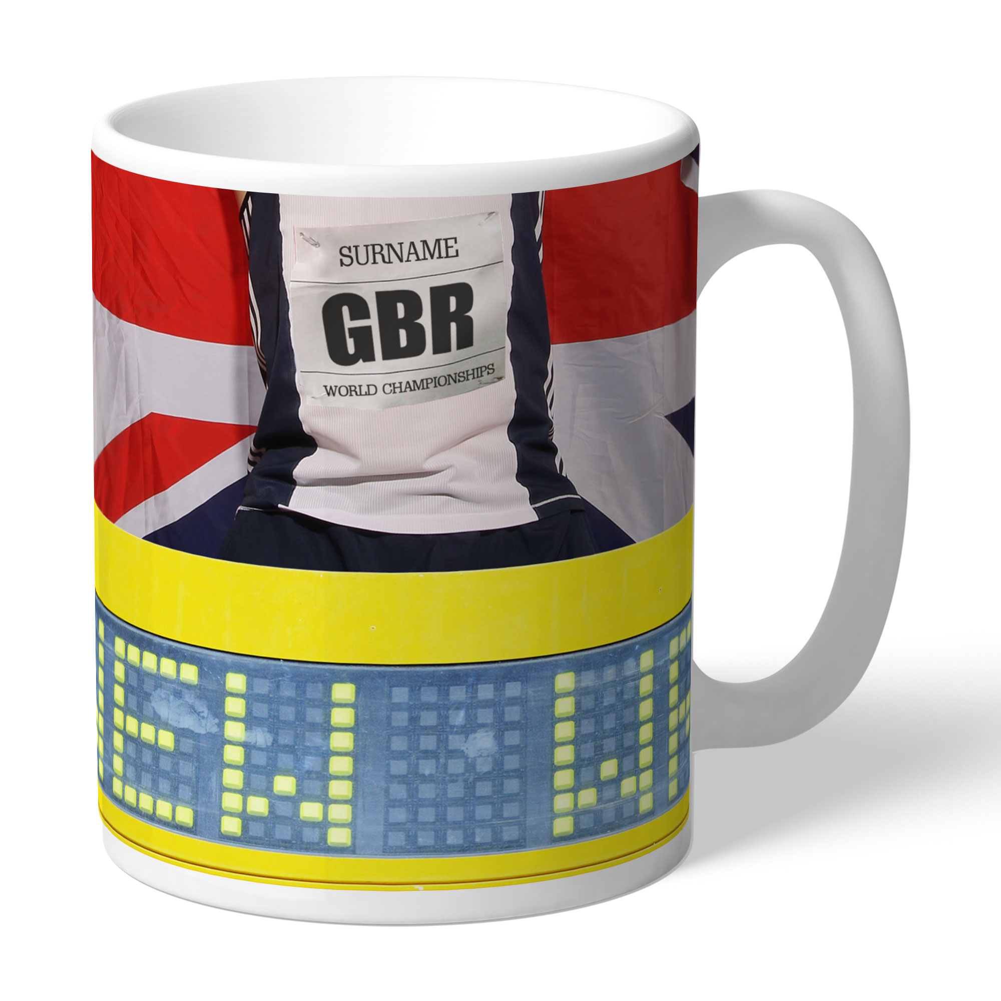 Personalised Athletics Mug
