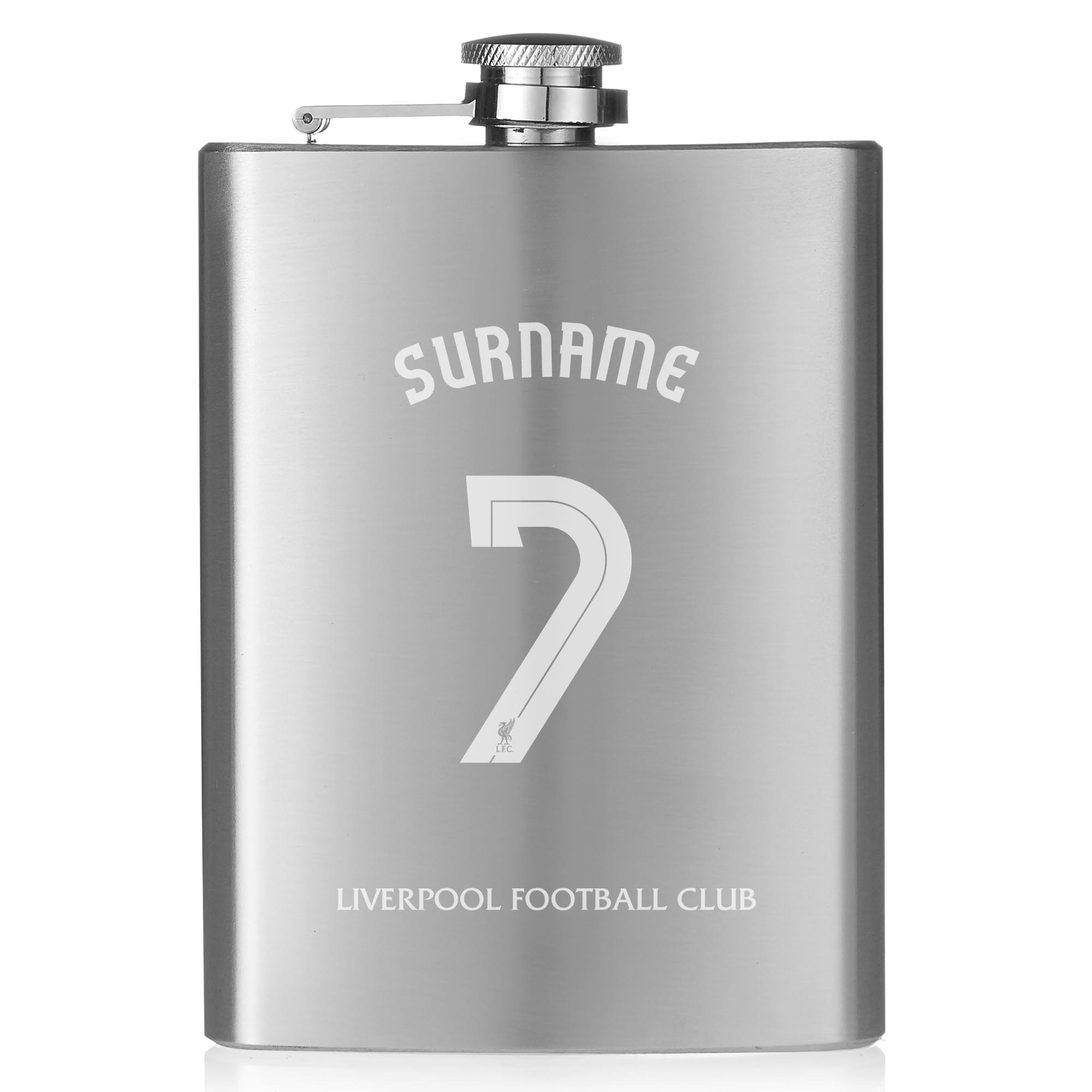 Liverpool FC Shirt Hip Flask