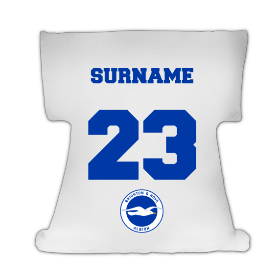 Brighton & Hove Albion FC Crest Cushion