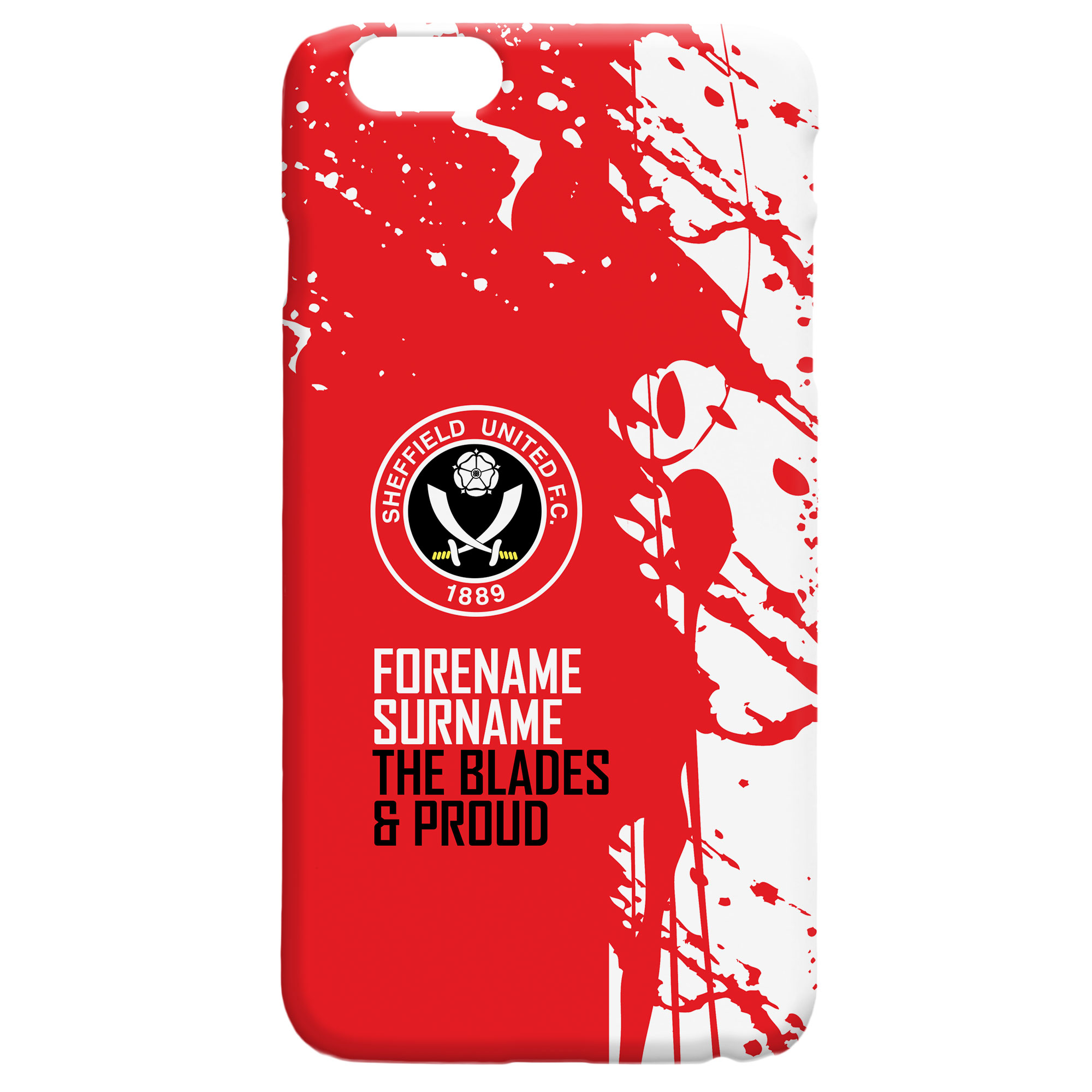 Sheffield United FC Proud Hard Back Phone Case