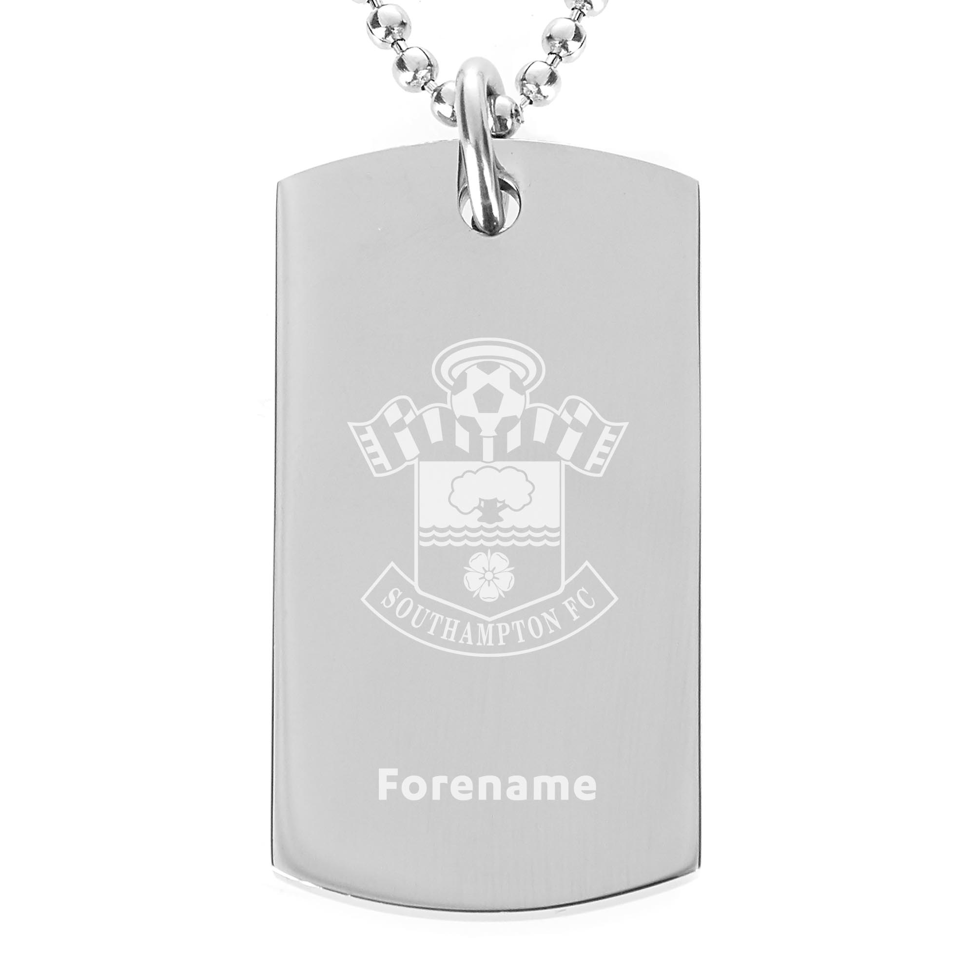 Southampton FC Crest Dog Tag Pendant