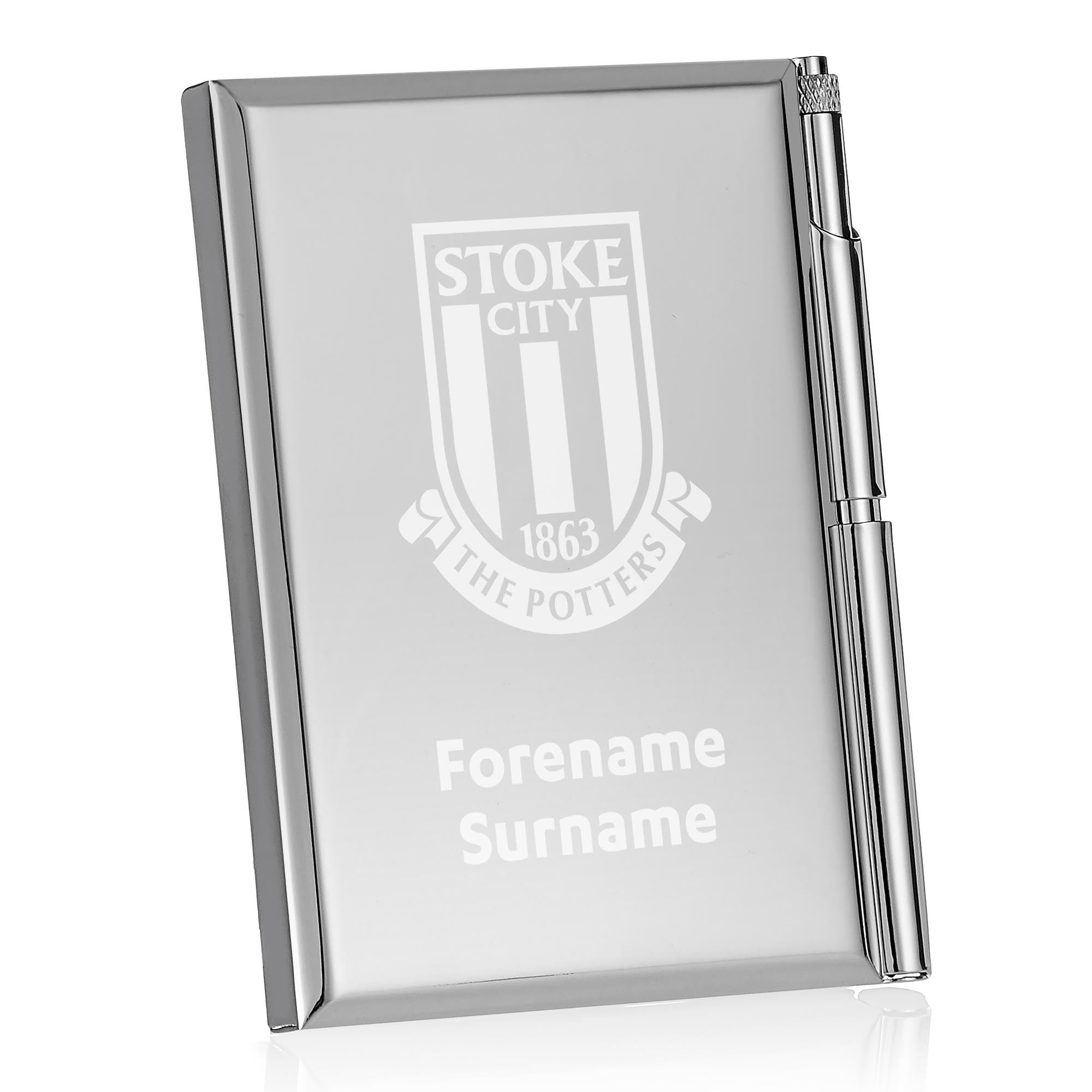 Stoke City FC Crest Address Book