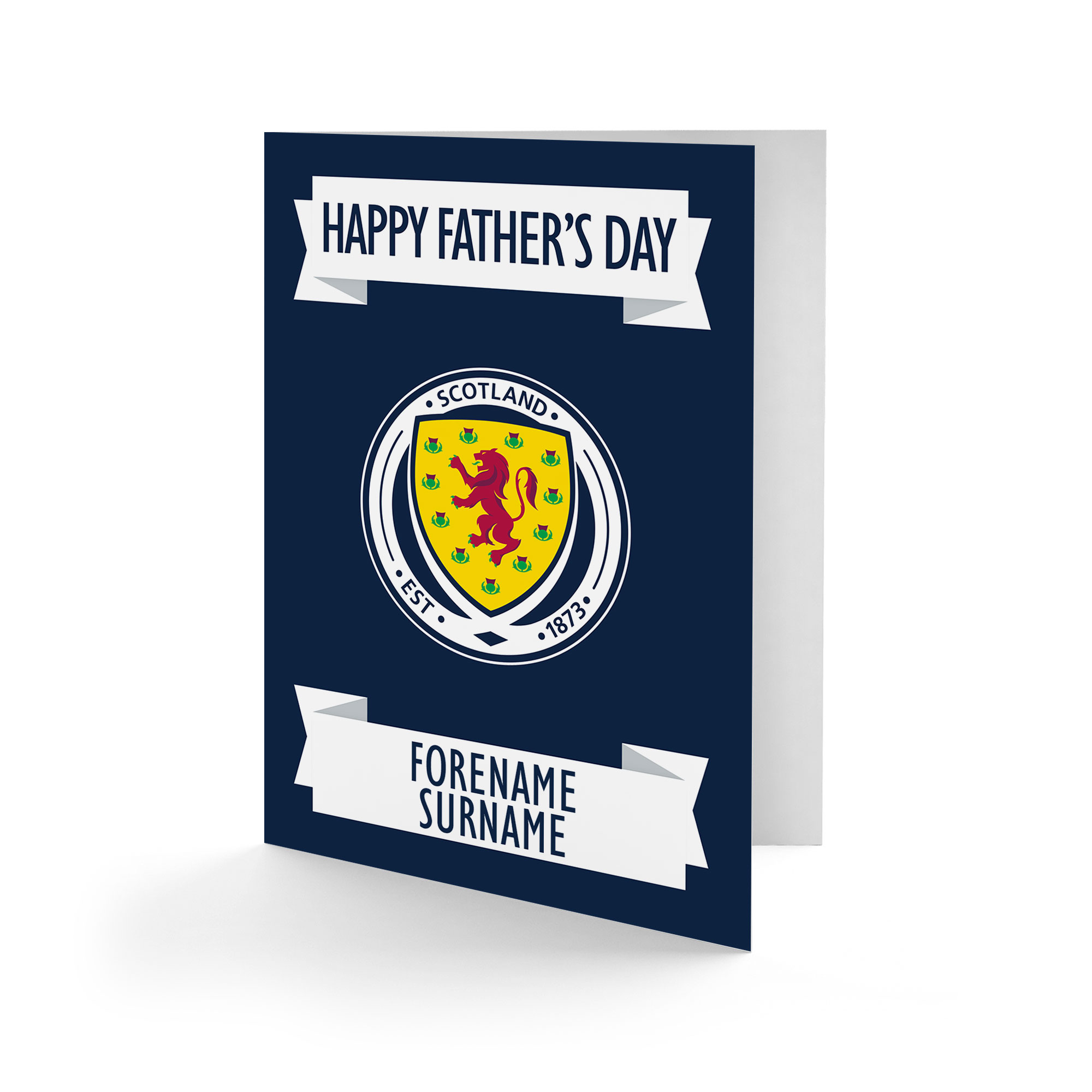 Scotland Crest Father's Day Card