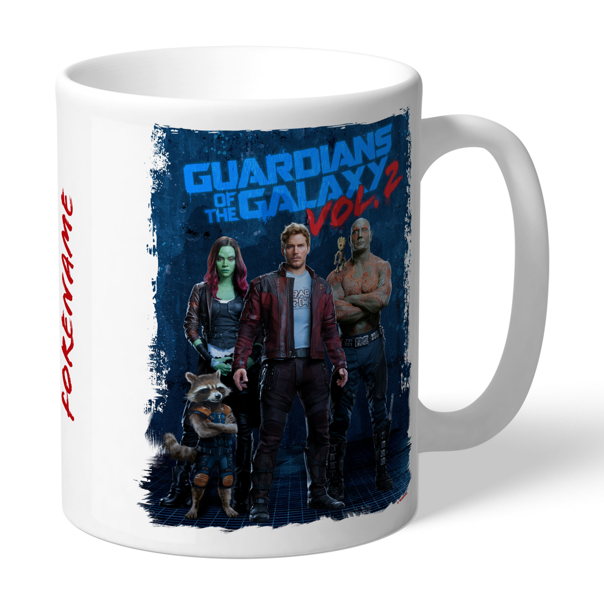 Marvel Guardians of the Galaxy Grunge Mug