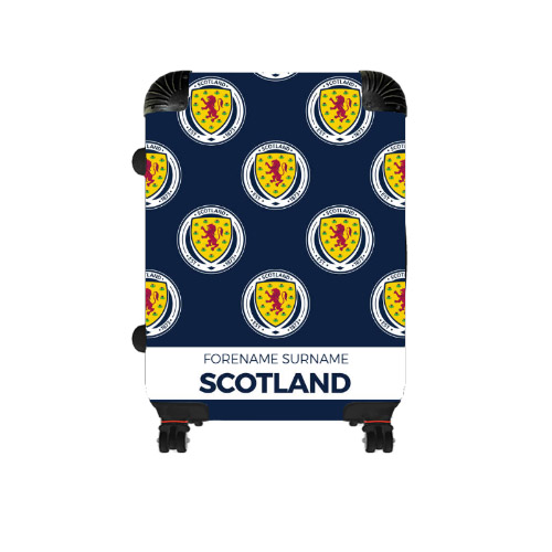 Scotland Mini Crest Cabin Suitcase