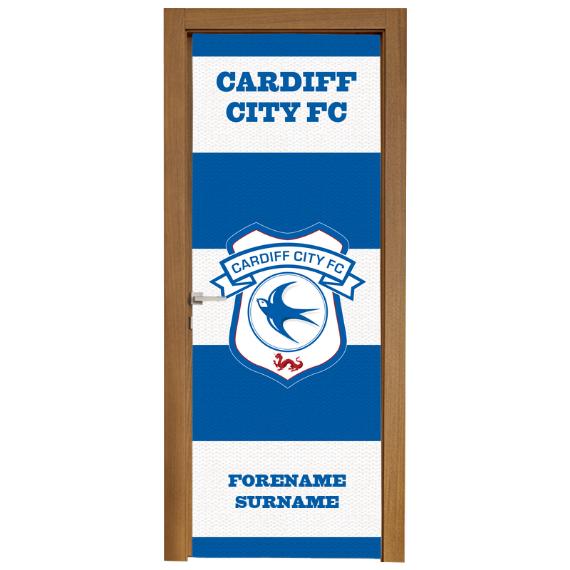 Cardiff City FC Scarf Door Banner