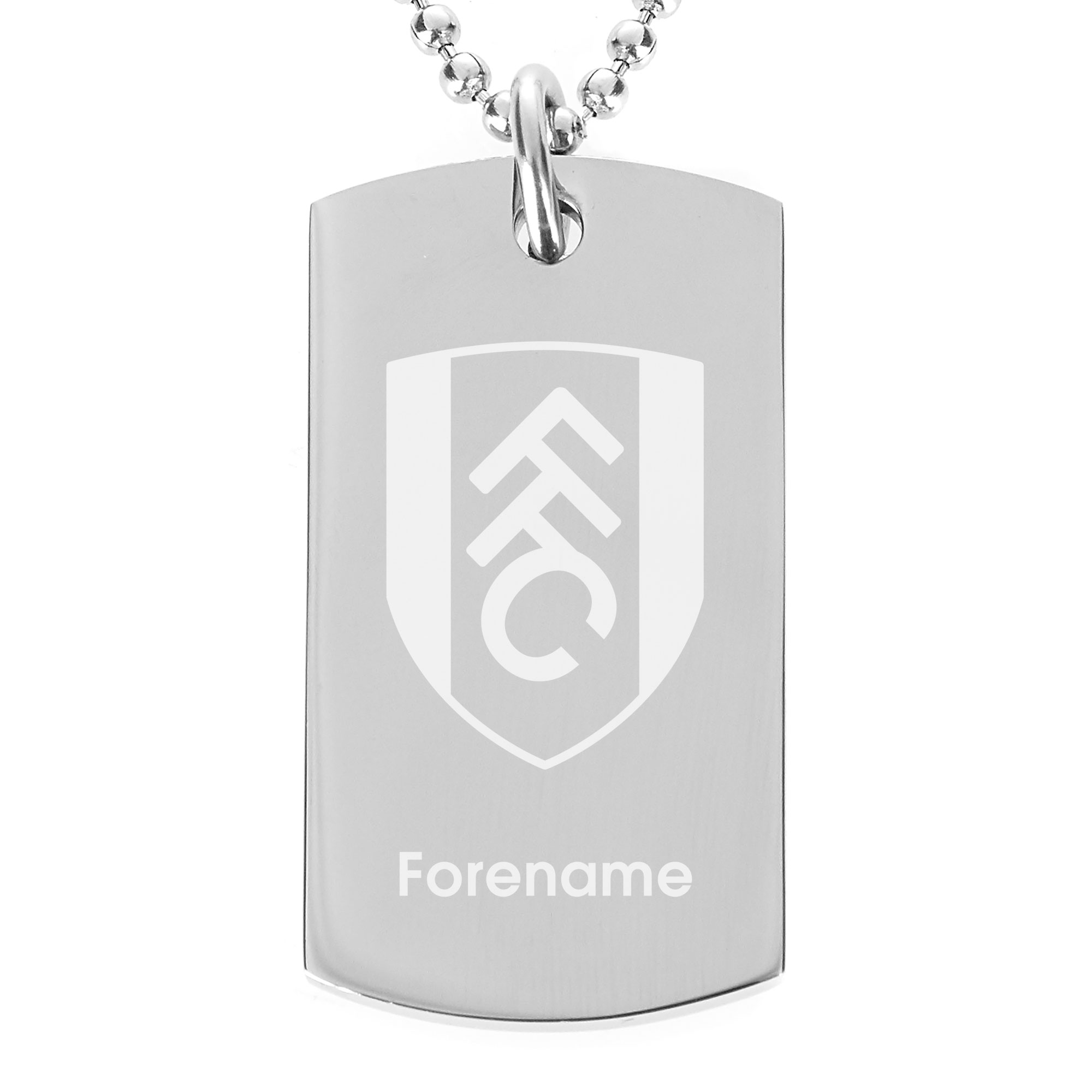 Fulham FC Crest Dog Tag Pendant