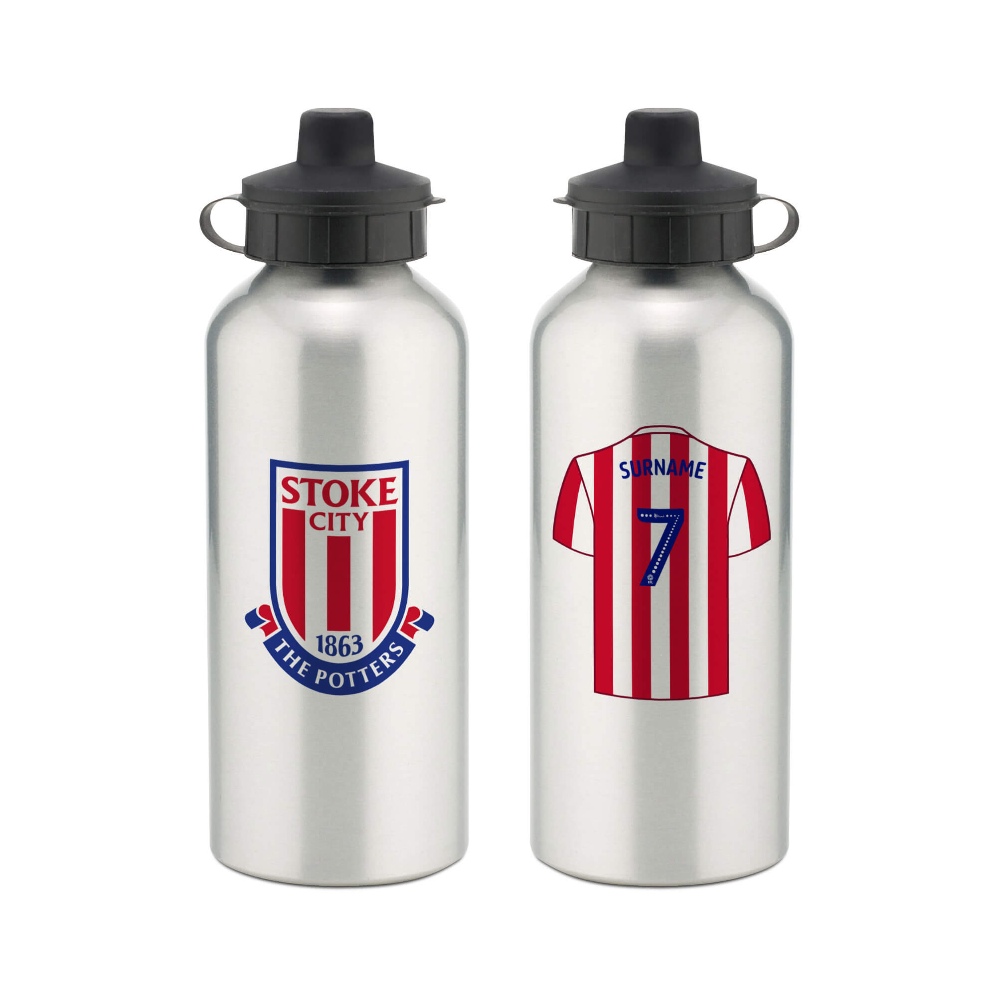 Stoke City FC Aluminium Water Bottle
