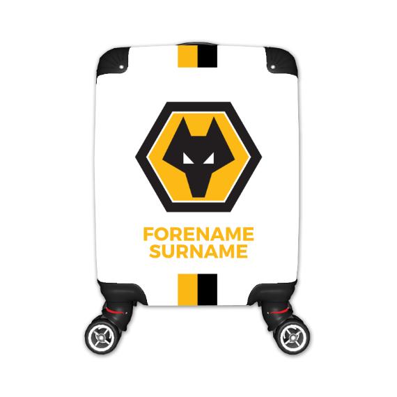 Wolverhampton Wanderers FC Stripe Kid's Suitcase
