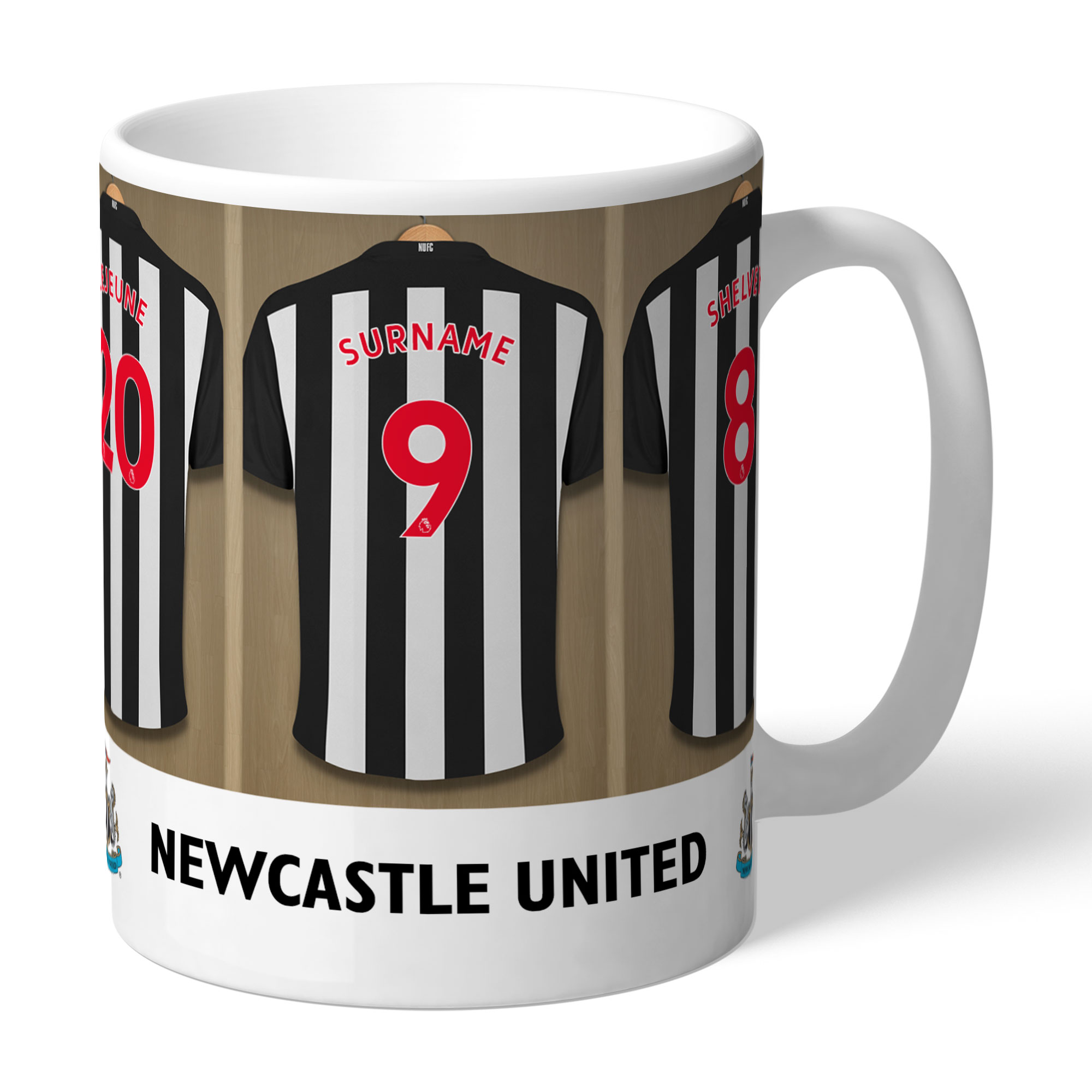 Newcastle United FC Dressing Room Mug