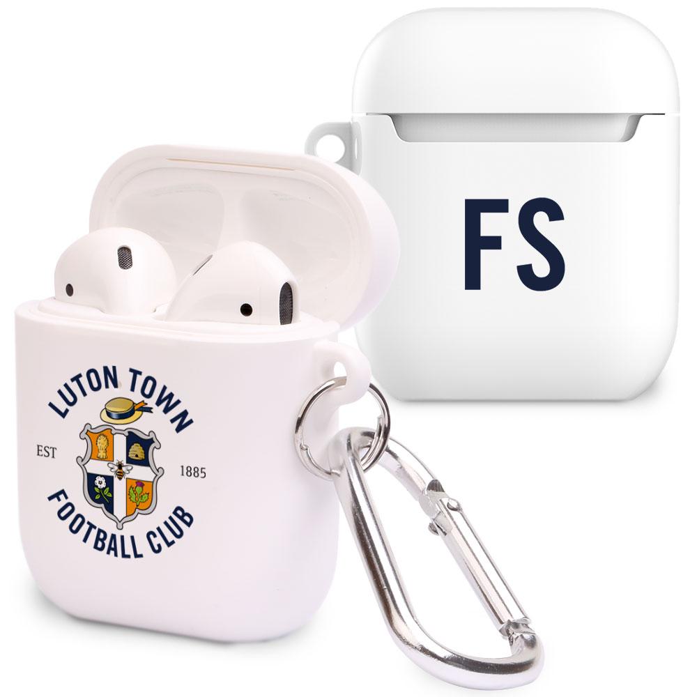 Luton Town FC Initials Airpod Case