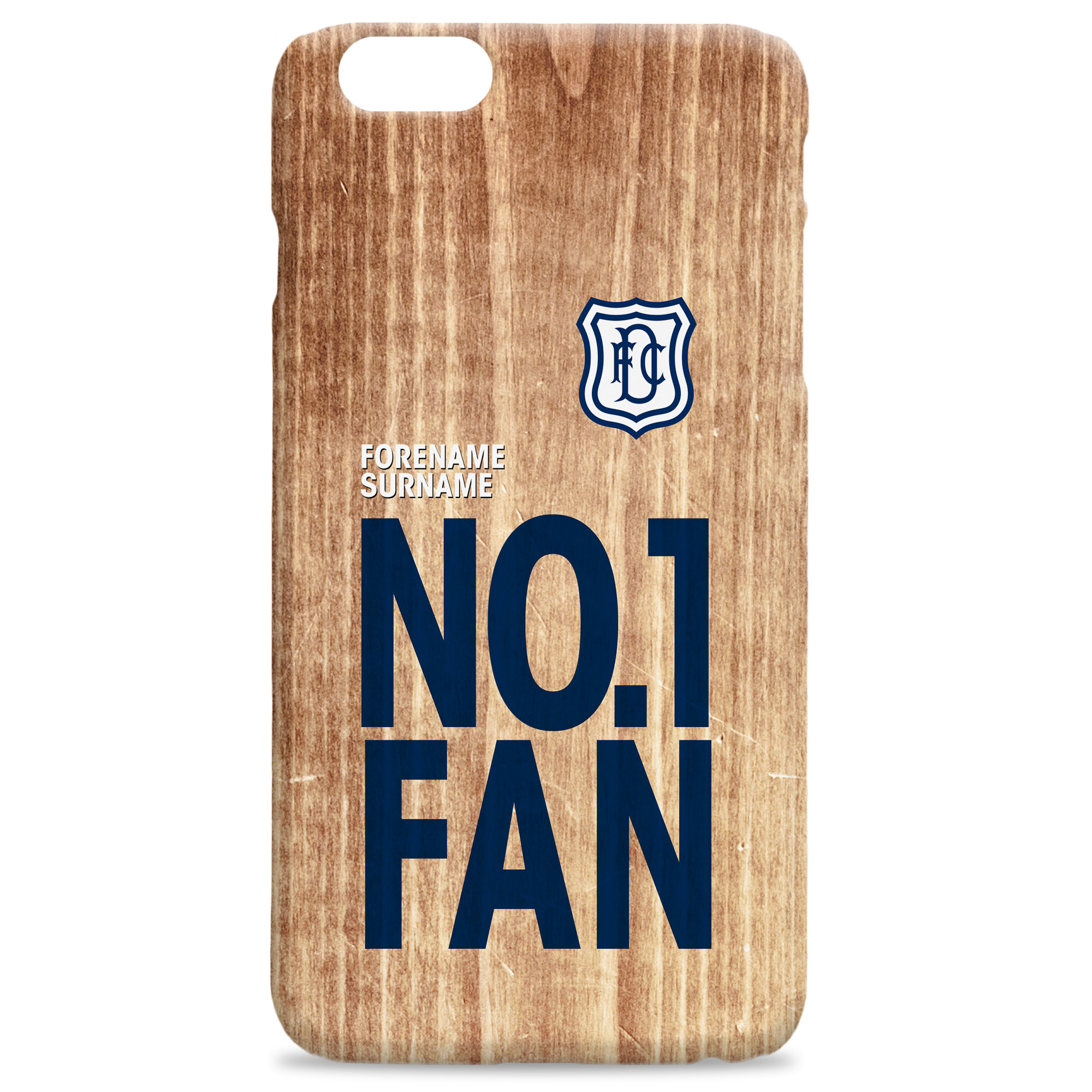 Dundee FC No 1 Fan Hard Back Phone Case