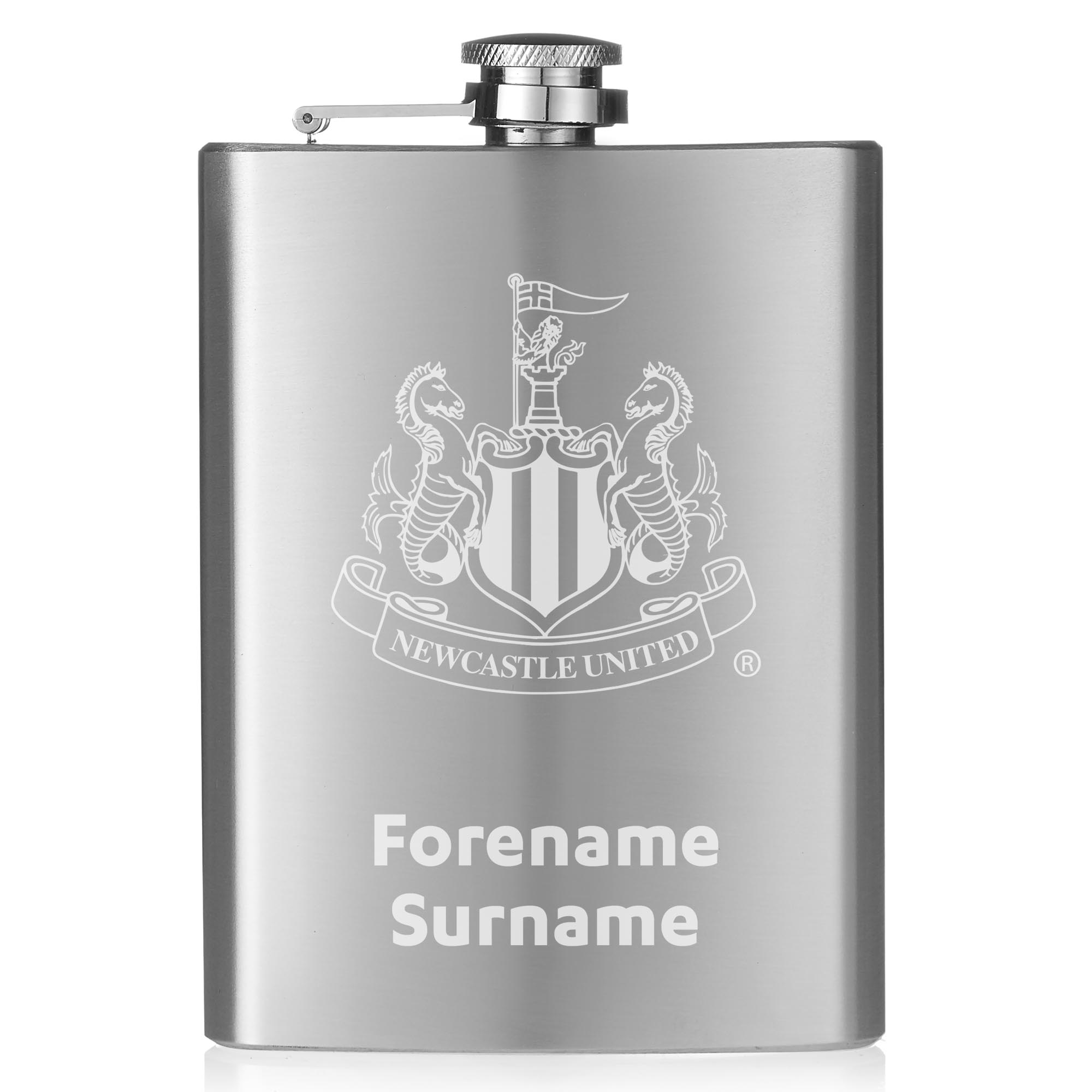 Newcastle United FC Crest Hip Flask