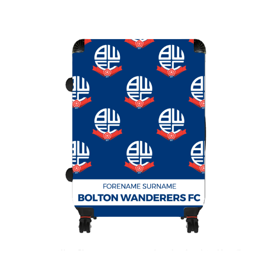 Bolton Wanderers FC Mini Crest Large Suitcase