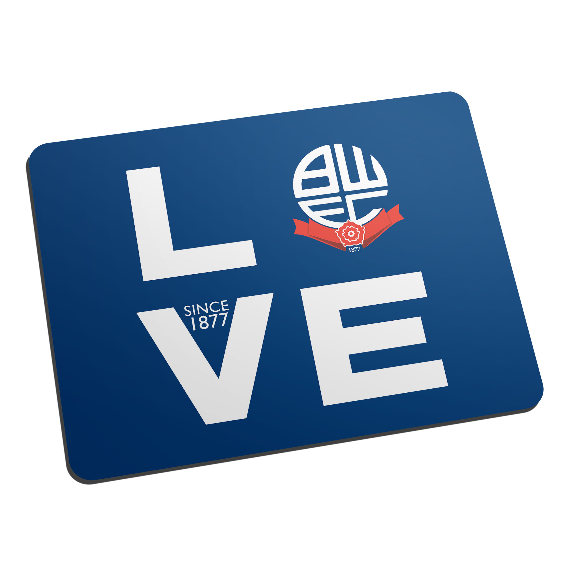 Bolton Wanderers Love Mouse Mat