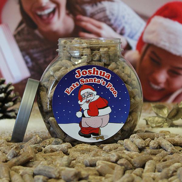 Santa's Poo Jar