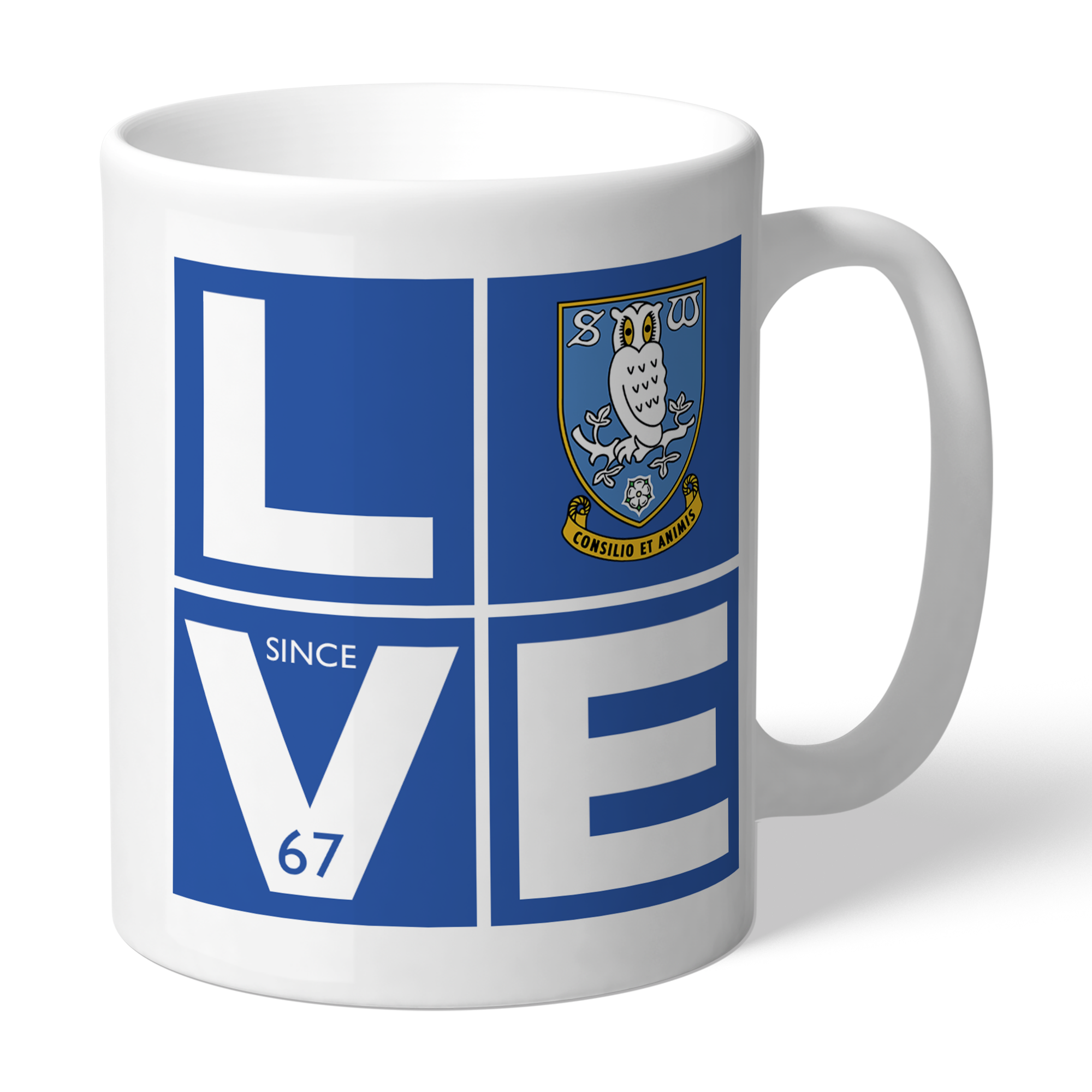 Sheffield Wednesday Love Mug