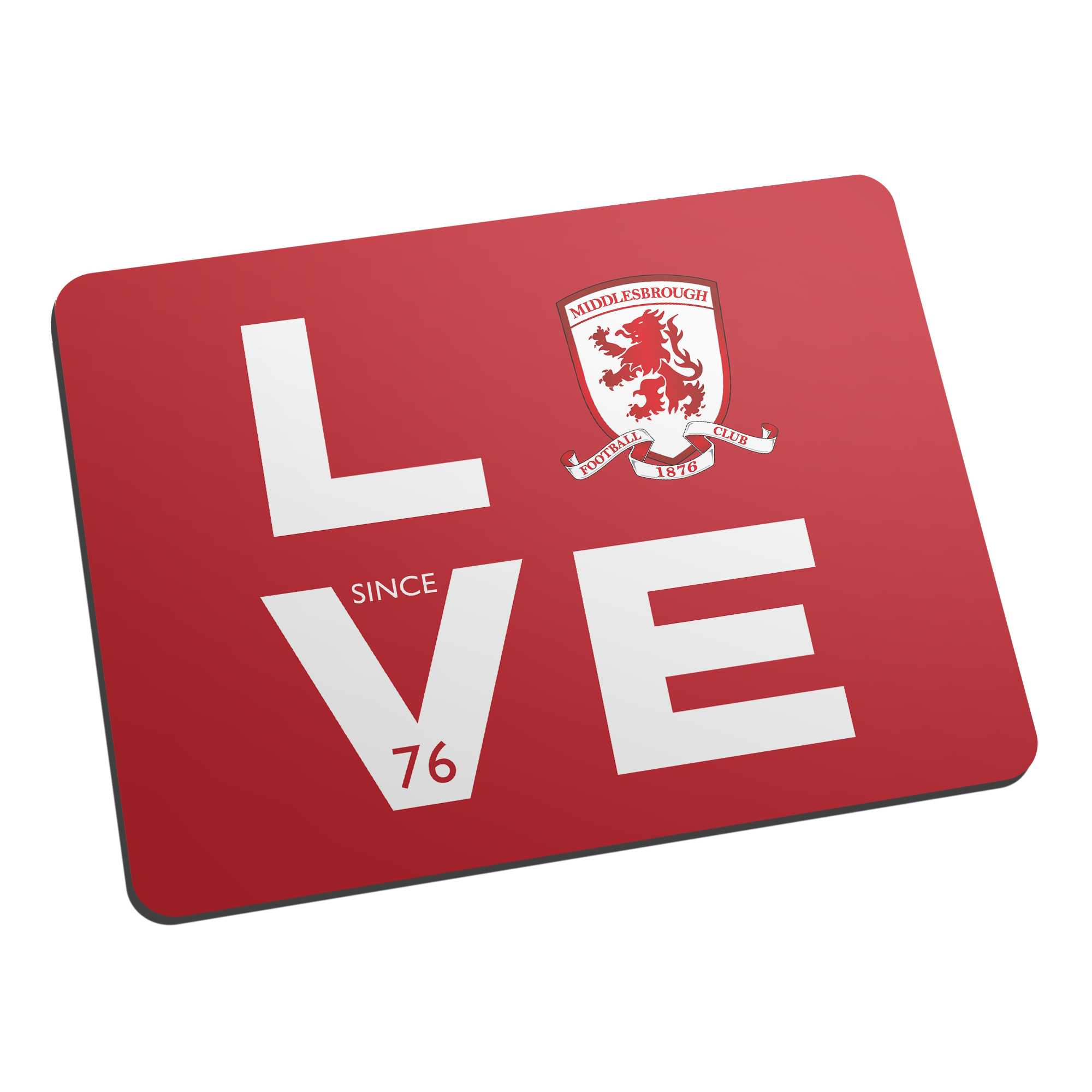 Middlesbrough Love Mouse Mat