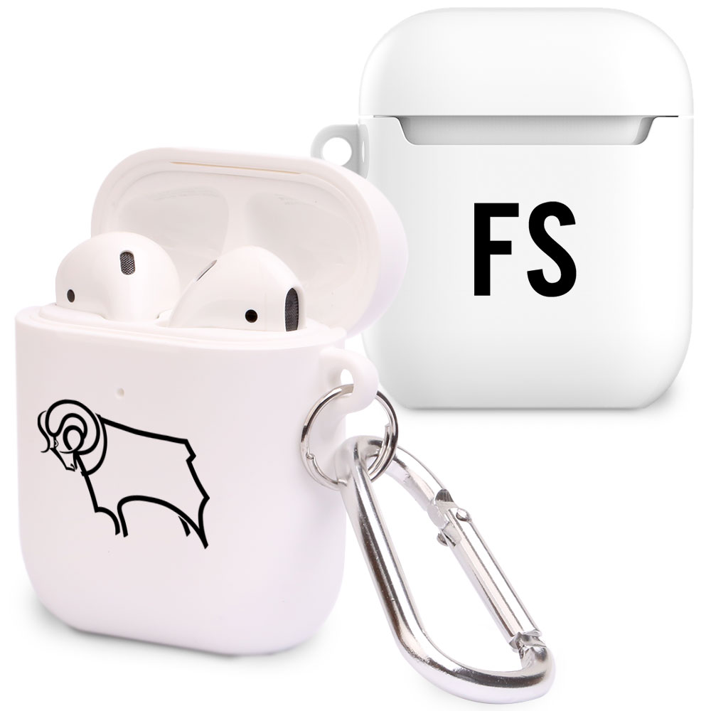 Derby County Initials Airpod Case