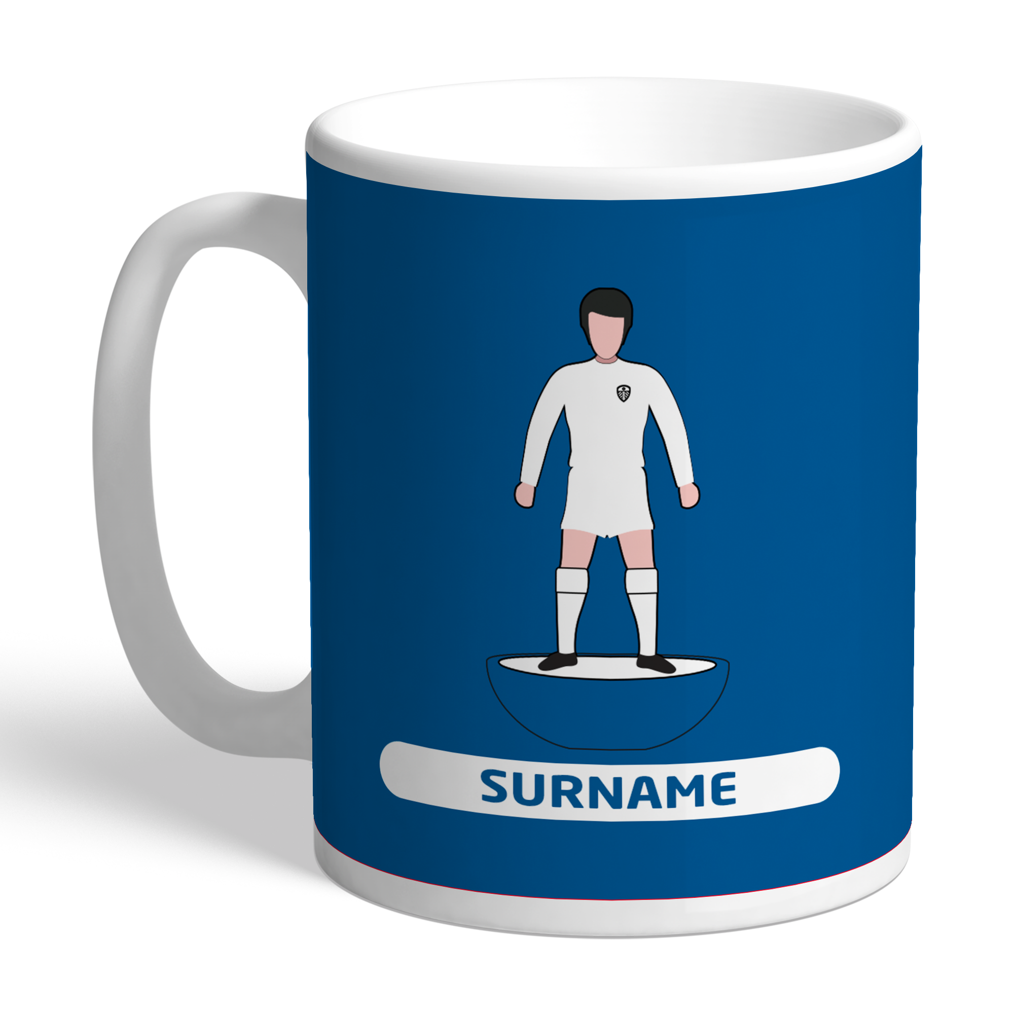 Leeds United FC Player Figure Mug