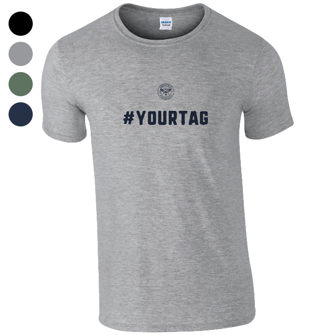 Brentford FC Crest Hashtag T-Shirt