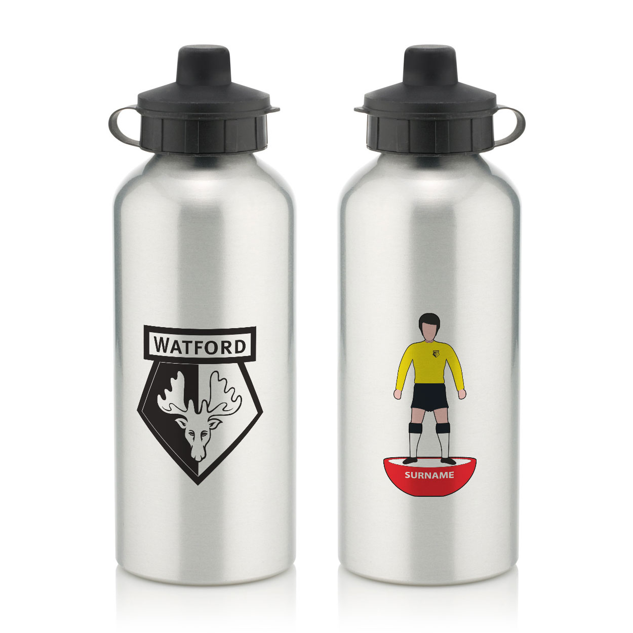 Watford FC Player Figure Water Bottle