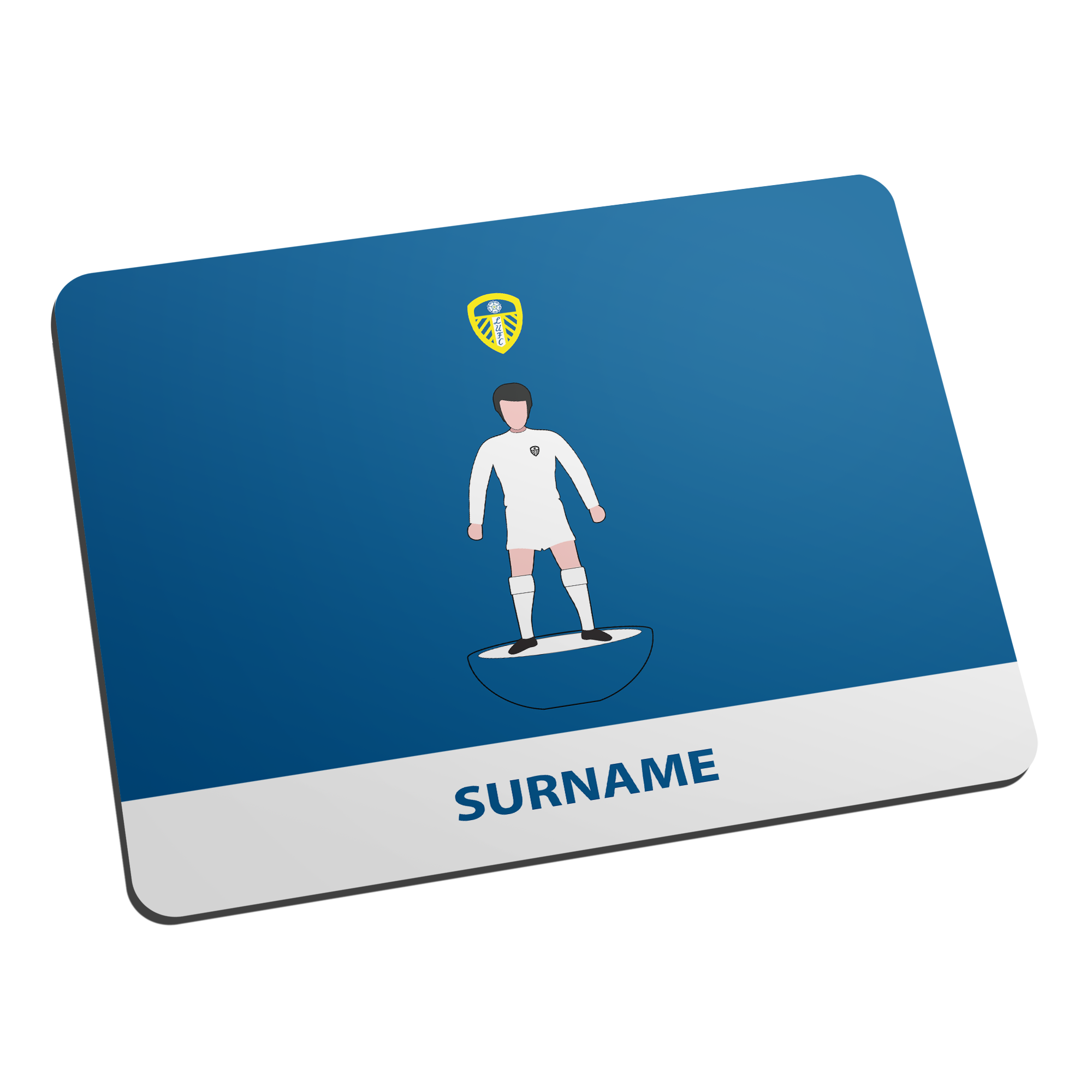Leeds United FC Player Figure Mouse Mat