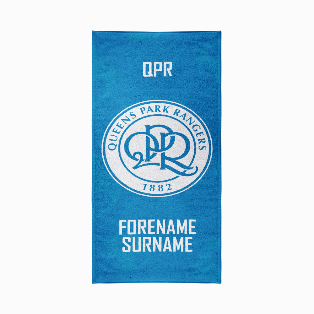 Queens Park Rangers FC Crest Design Towel - 80cm x 160cm