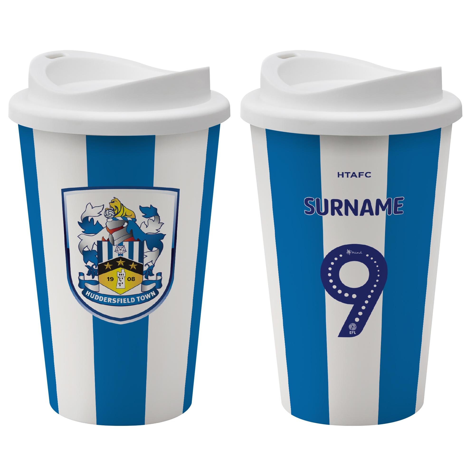 Huddersfield Town AFC Back of Shirt Reusable Cup