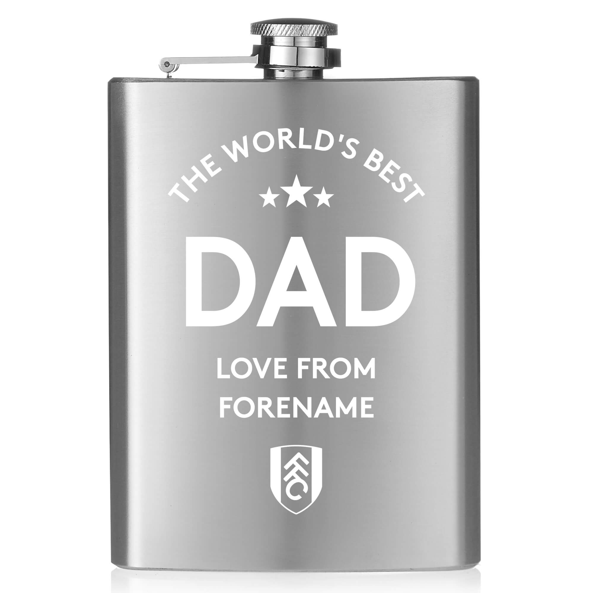 Fulham FC World's Best Dad Hip Flask