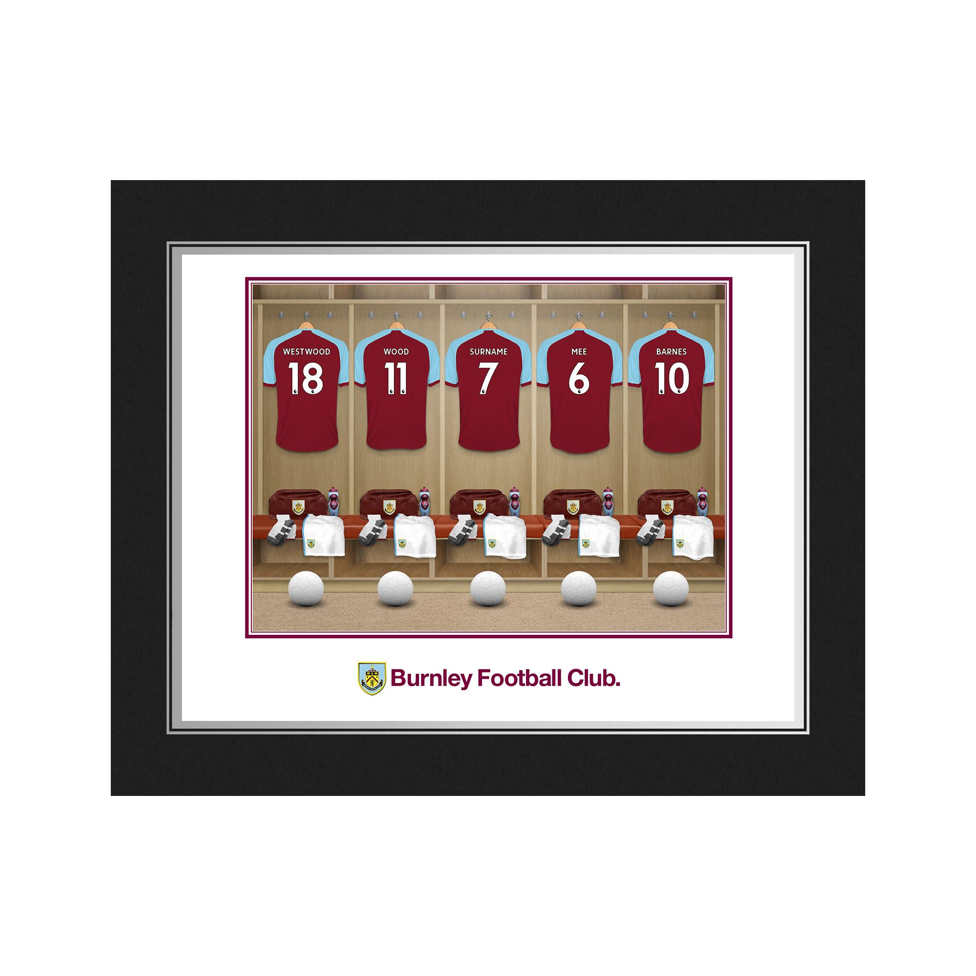 Burnley FC Dressing Room Photo Folder