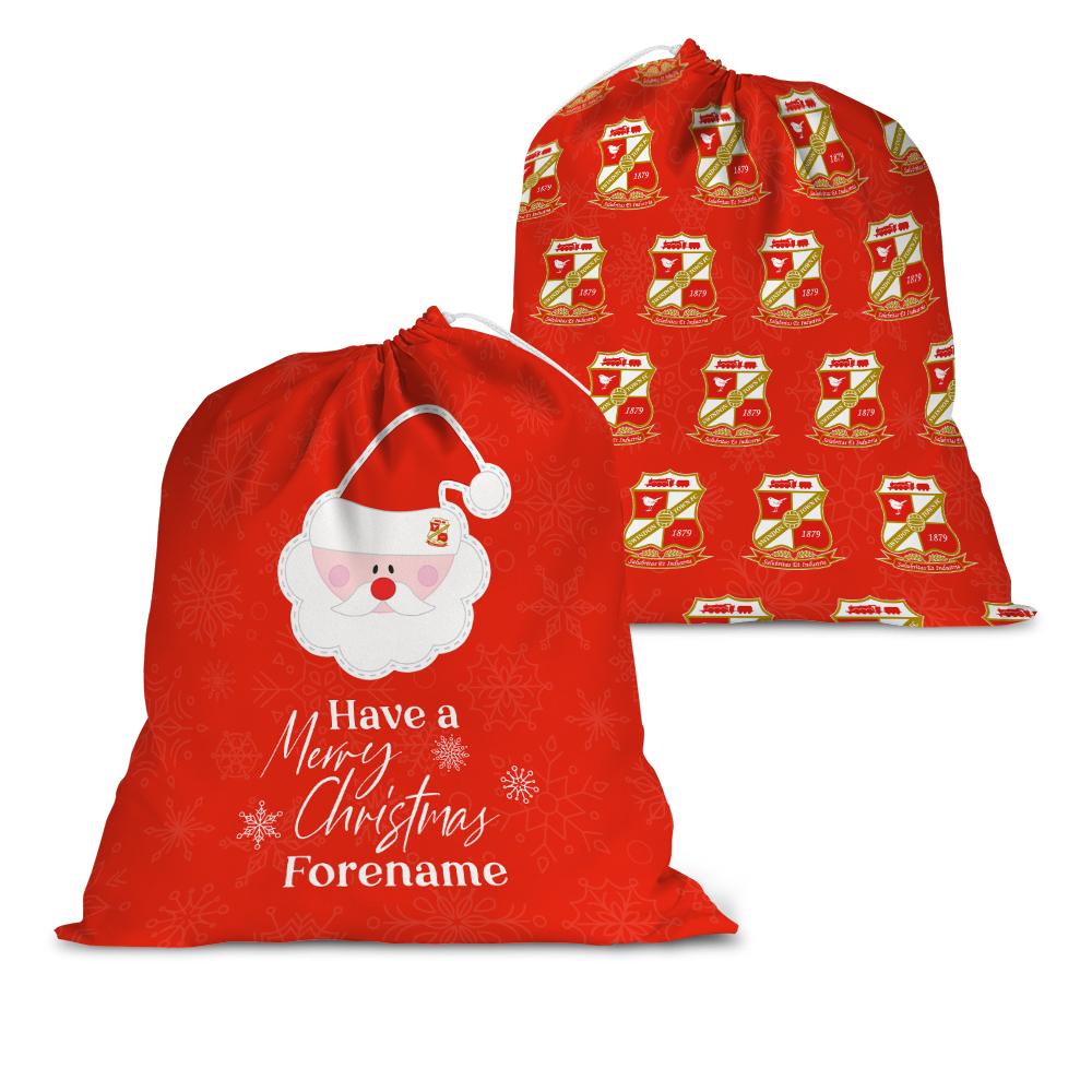 Swindon Town Merry Christmas Santa Sack