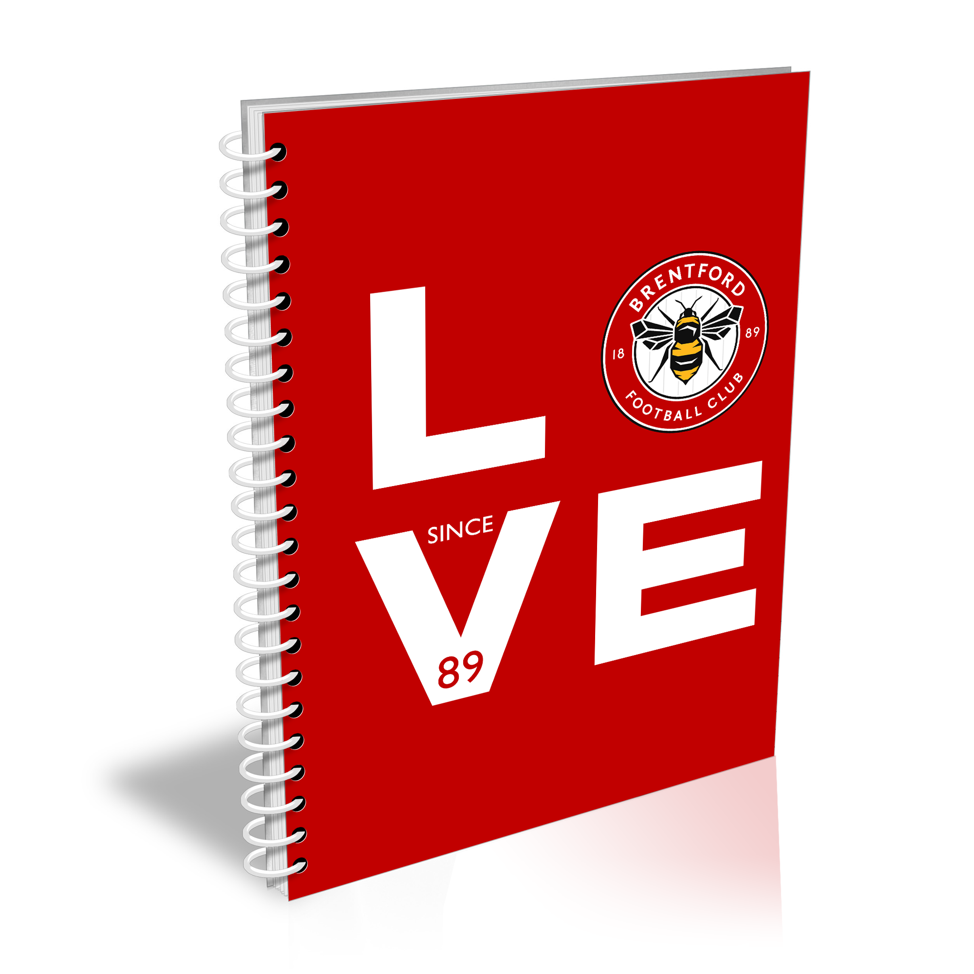 Brentford Love Notebook