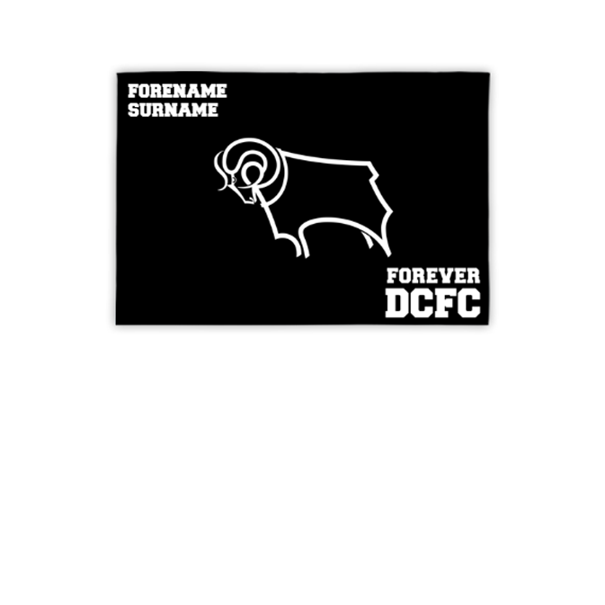 Derby County Forever 3ft x 2ft Banner
